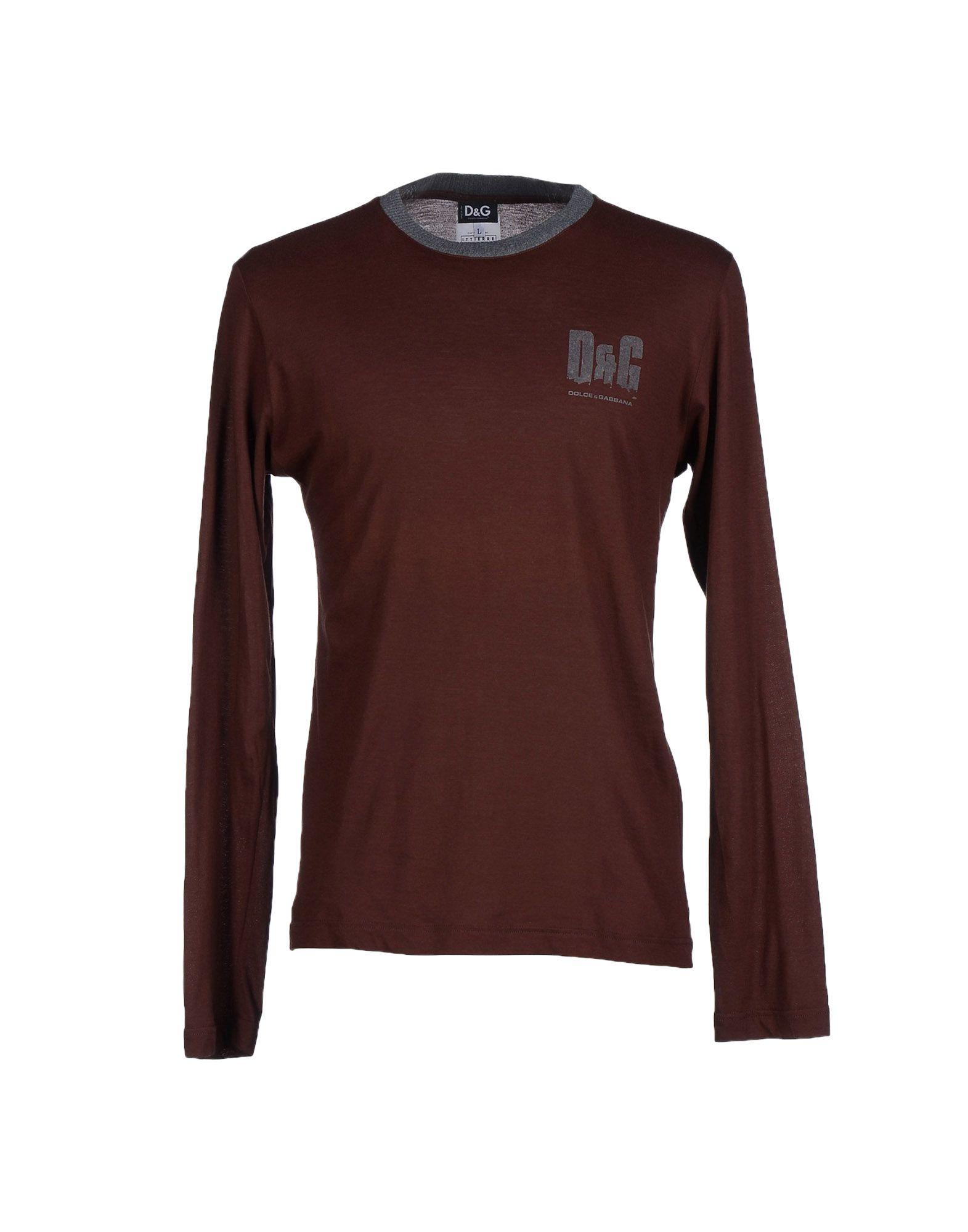 dolce gabbana t shirt in brown for men lyst. Black Bedroom Furniture Sets. Home Design Ideas