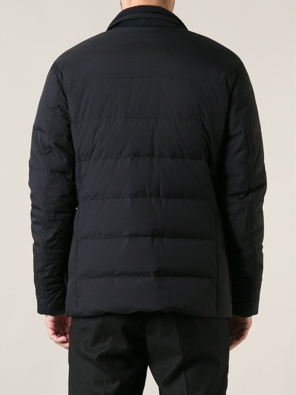 Lyst Loro Piana Storm Feather Down Jacket In Black For Men