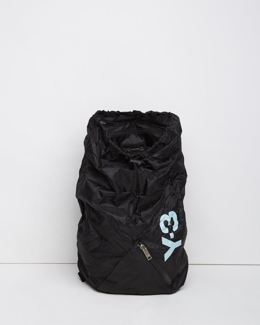 e18991904f Lyst - Y-3 Packable Backpack in Black for Men