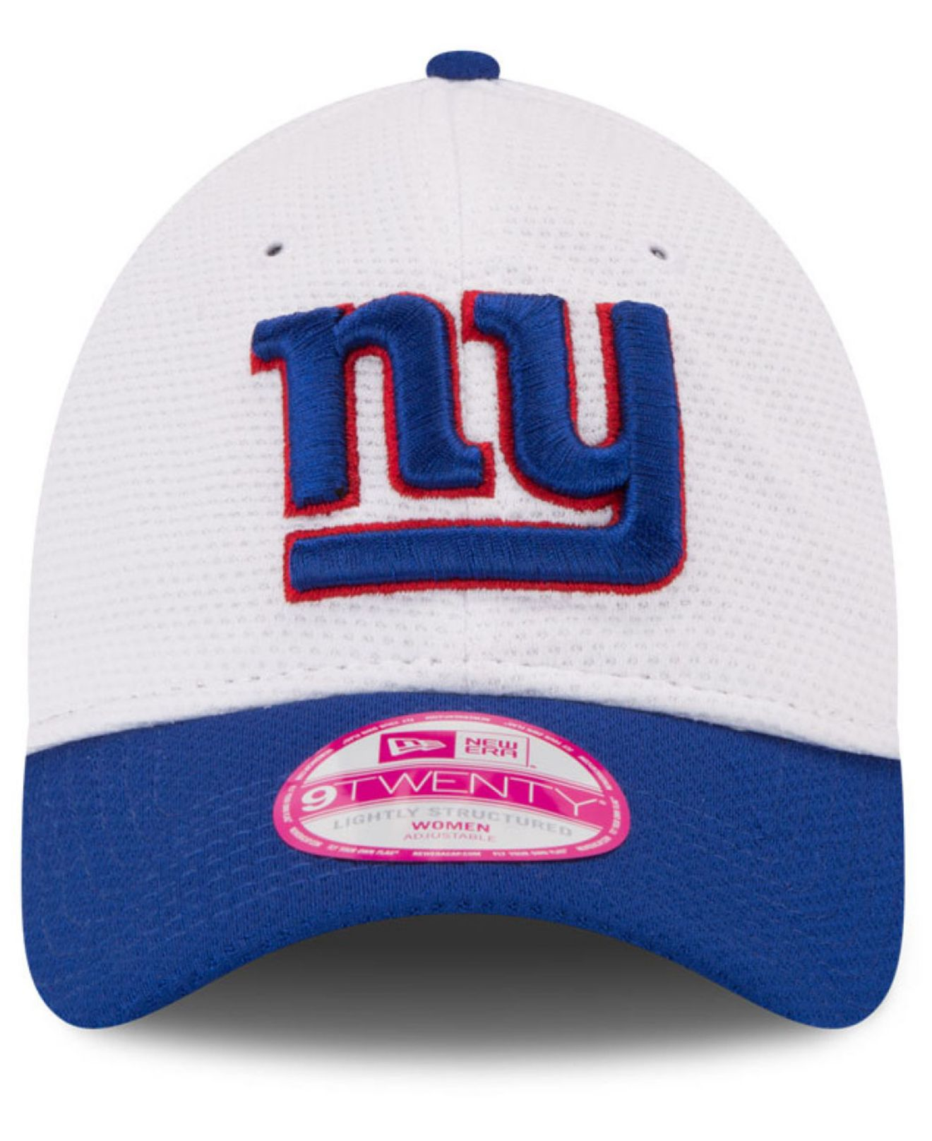 5073781d69a Lyst - Ktz Women s New York Giants Training Camp 9twenty Cap in White