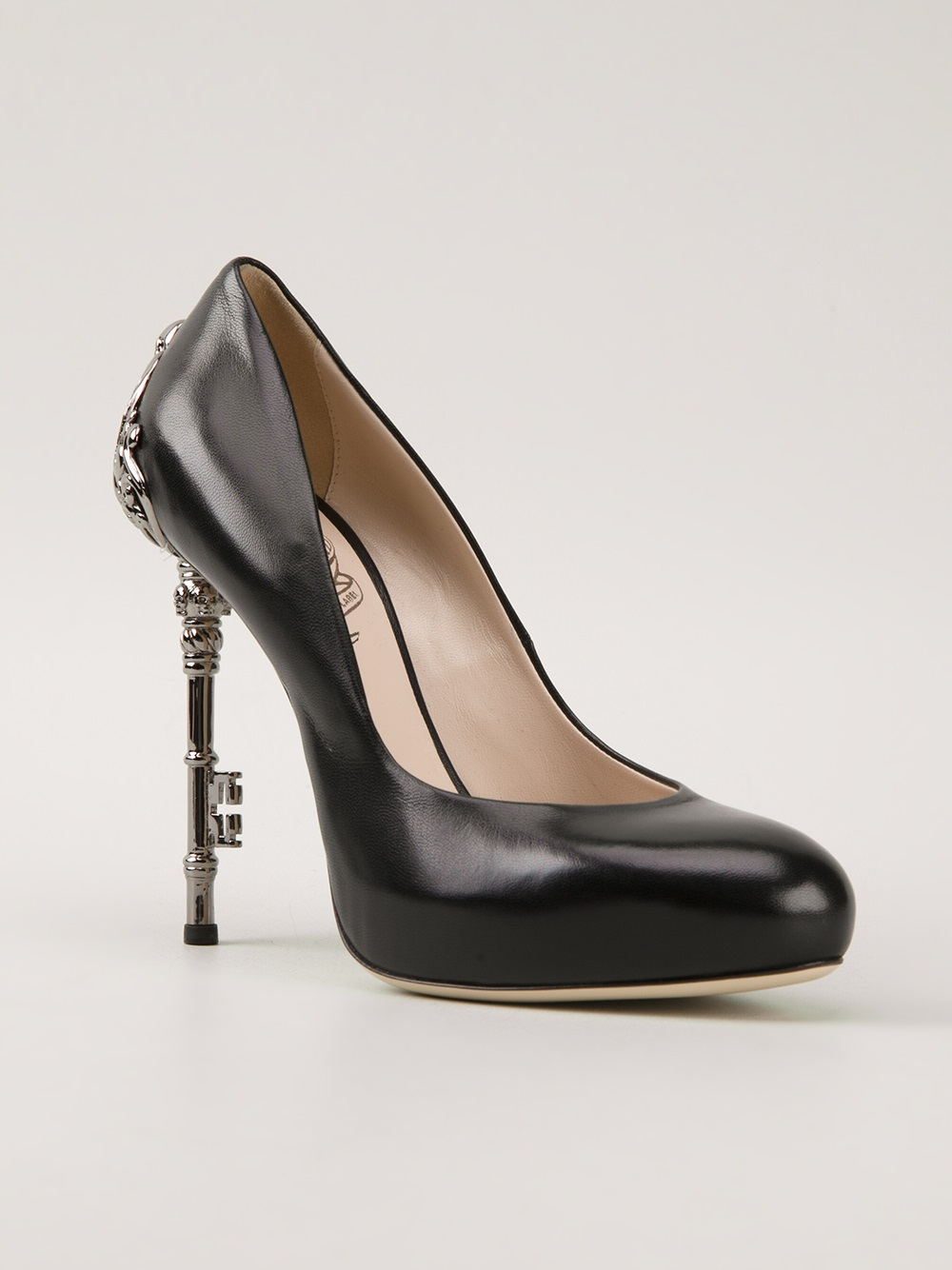 342c879e60b9 John richmond black label black embellished heel pump product normal jpg  1000x1334 John richmond black label