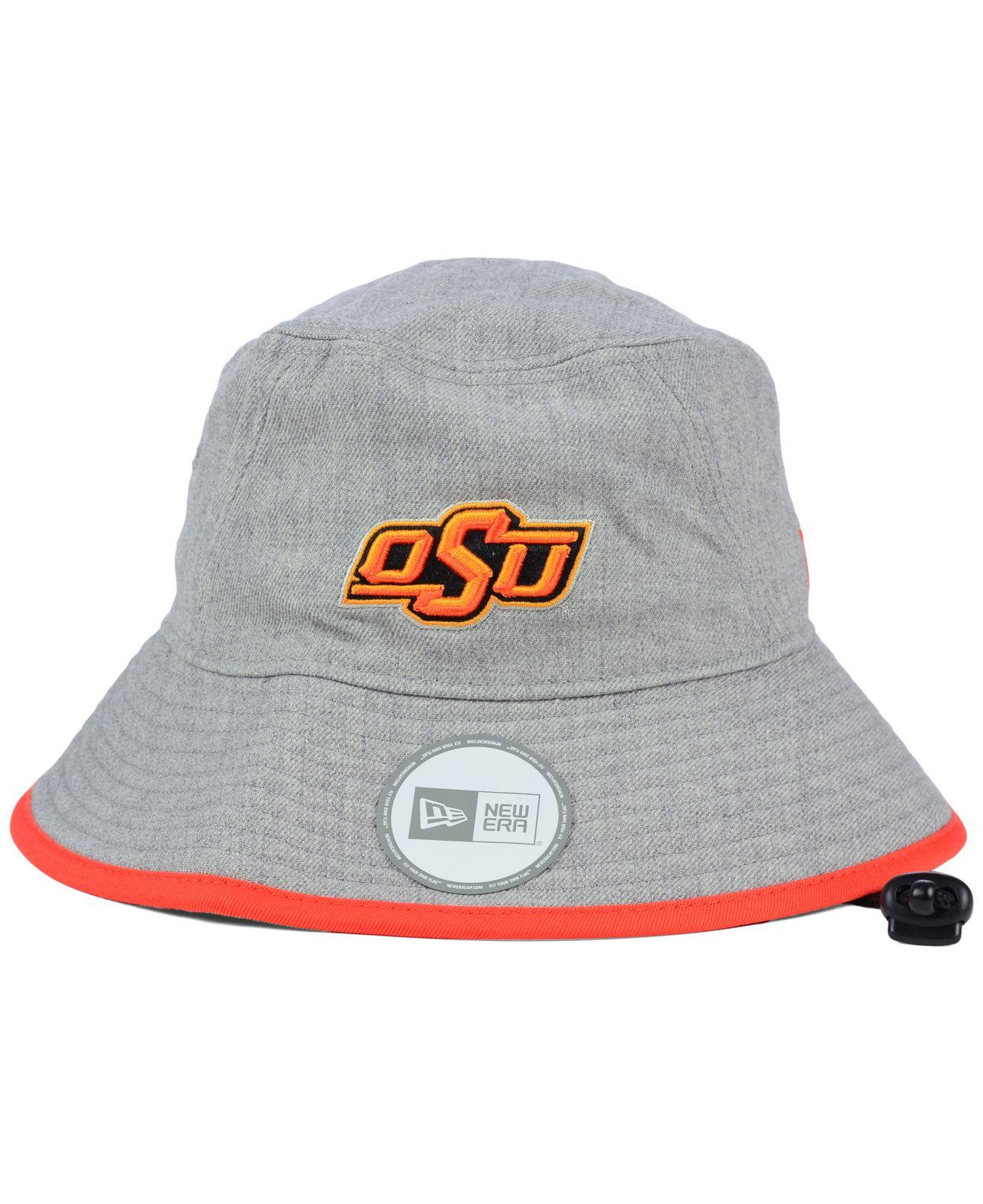 Lyst - KTZ Oklahoma State Cowboys Tip Bucket Hat in Gray c1036937ec8