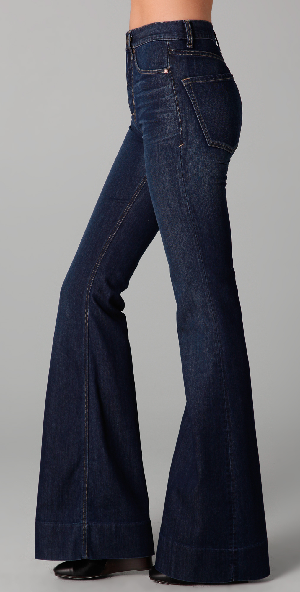 Marc by marc jacobs Standard Supply 70s Flare Jeans in Blue | Lyst