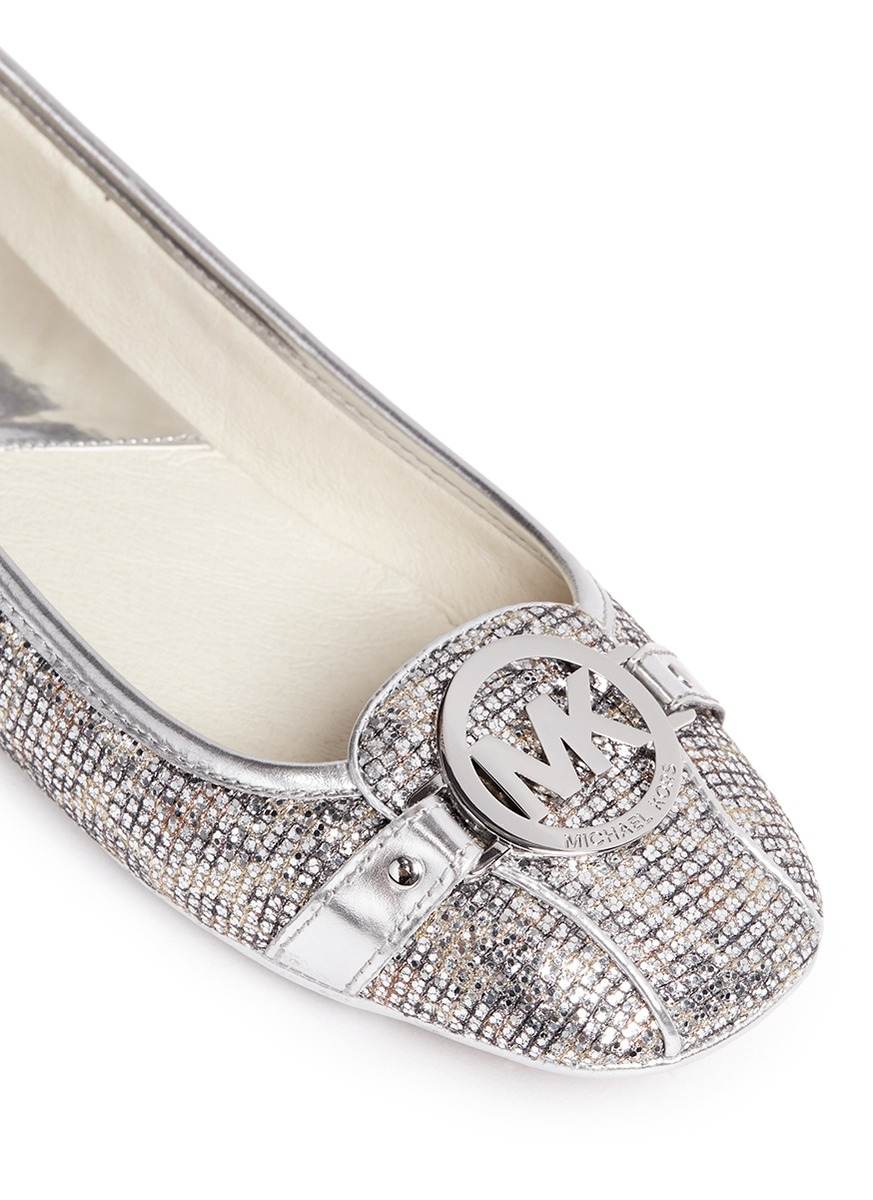 MICHAEL 14VtSaeUML FULTON MOC - Ballet pumps - silver