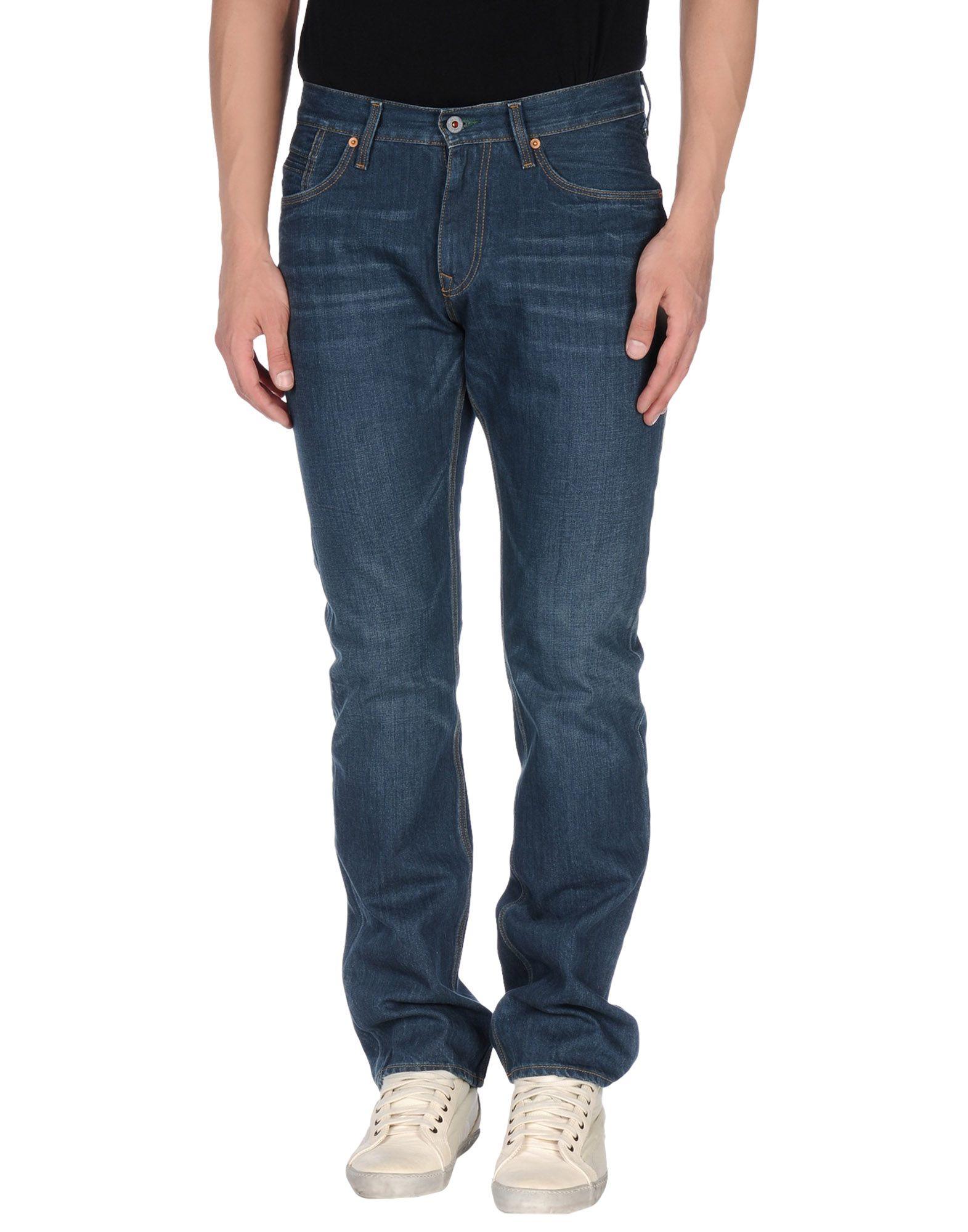 lyst tommy hilfiger denim trousers in blue for men. Black Bedroom Furniture Sets. Home Design Ideas