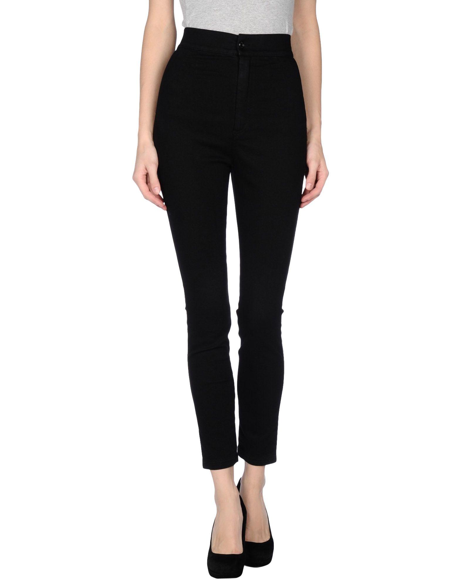 lyst dolce gabbana denim trousers in black. Black Bedroom Furniture Sets. Home Design Ideas