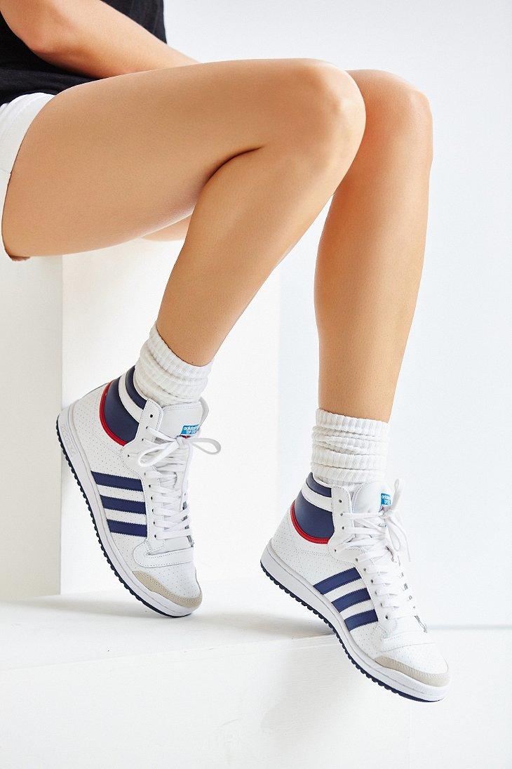 Top Ten Contemporary Novels: Adidas Originals Originals Top Ten Hi High Top Sneaker In