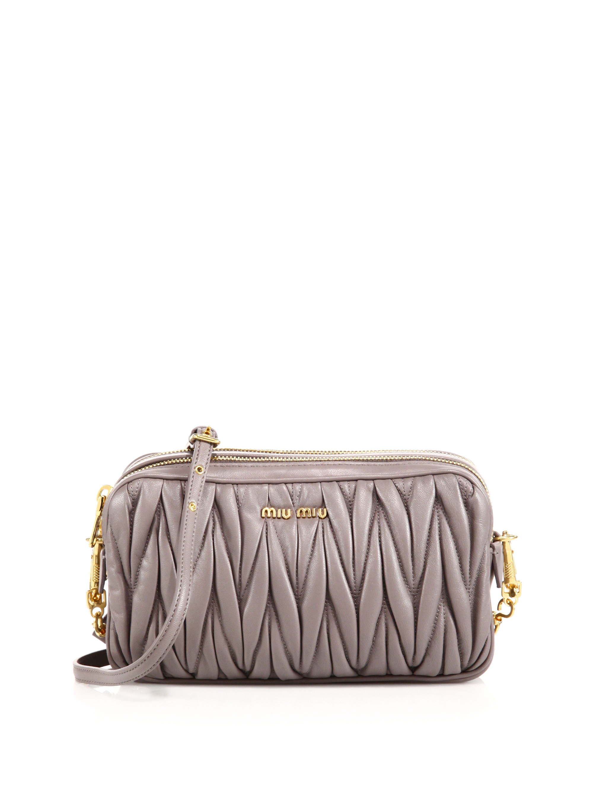 Miu Miu Miu Lady Matelassé Shoulder Bag cjqul