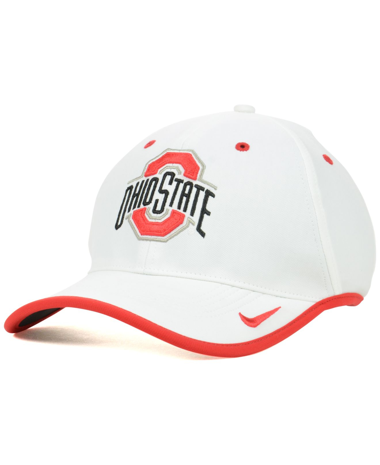 info for 79d7b 157a5 50% off lyst nike ohio state buckeyes coaches dri fit cap in orange for men