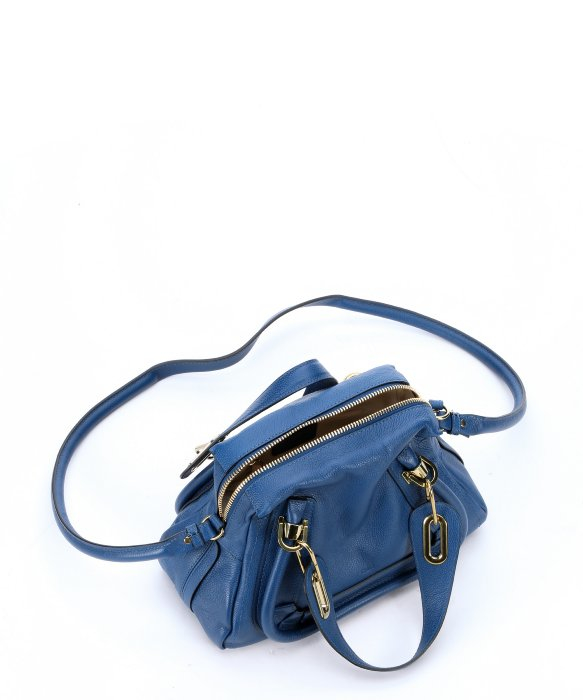 chloe resin top handle bag