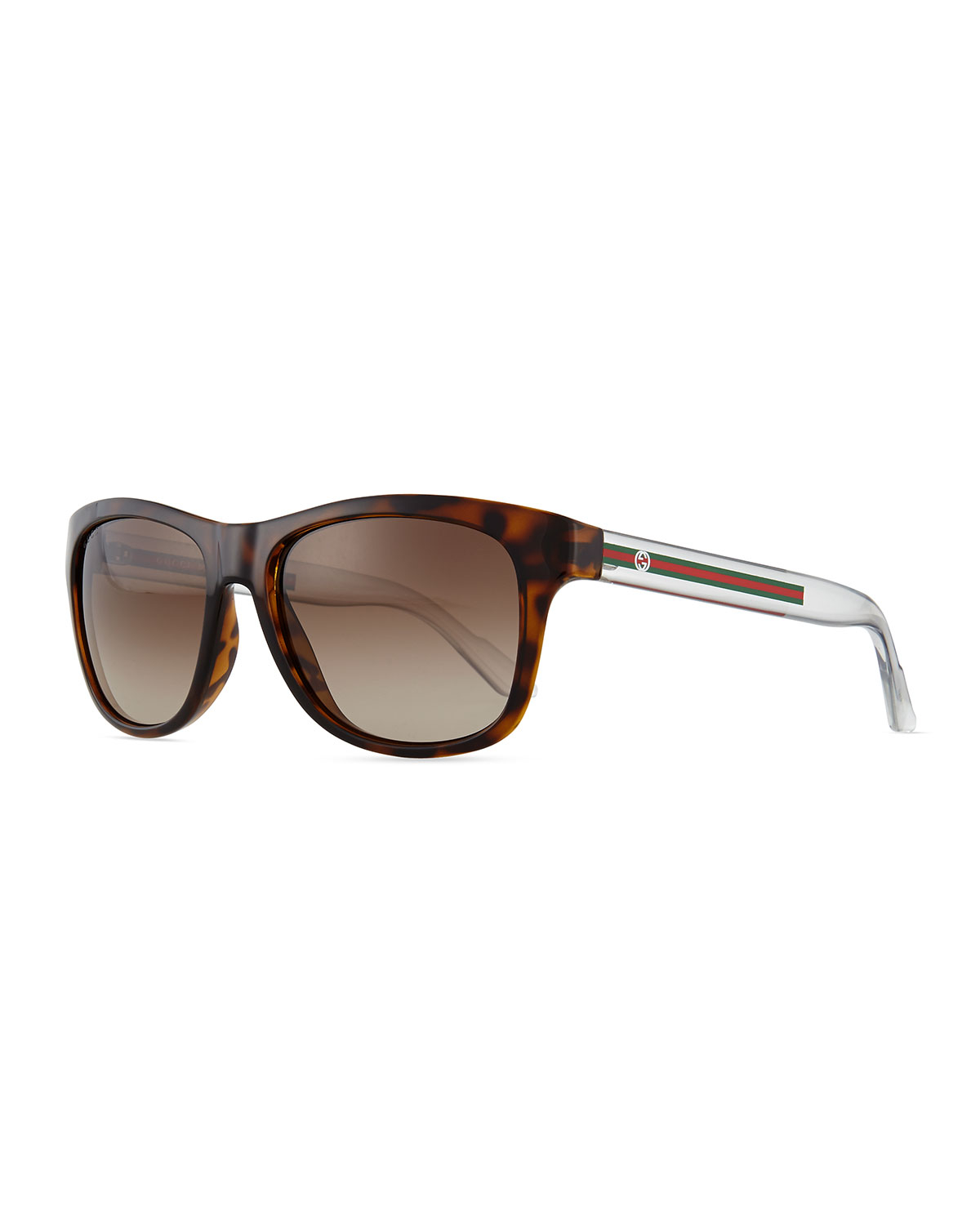 345351b35b2 Lyst - Gucci Youngster Gg-temple Sunglasses in Brown