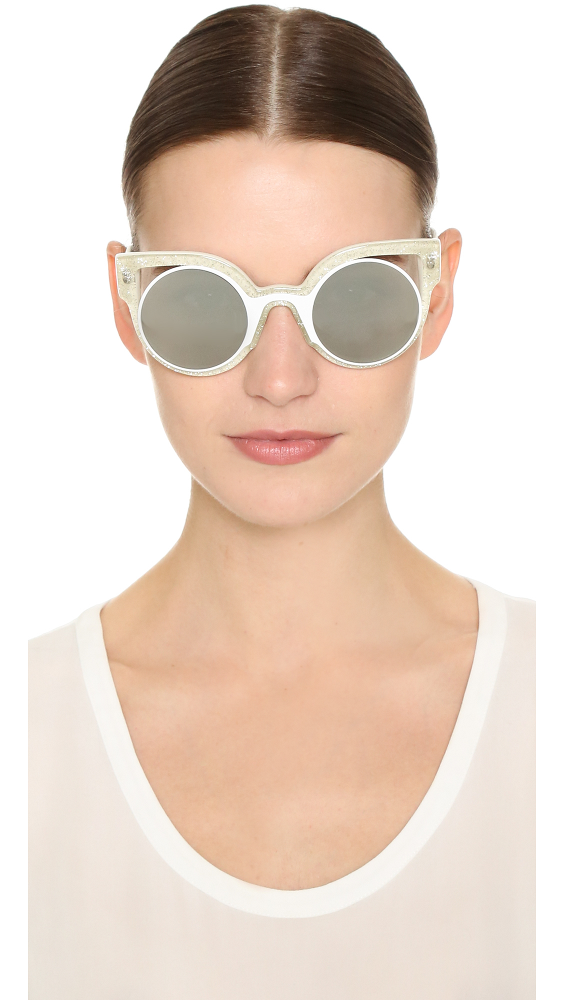 f5b4b0dd97735 Fendi Women s Oversized Sunglasses