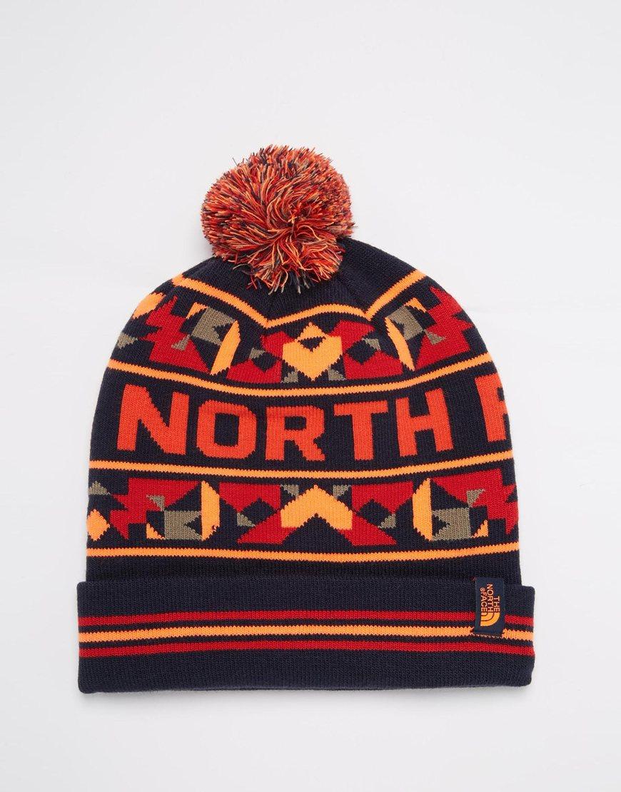 43dafcc9 The North Face Ski Tuke Bobble Beanie Hat in Blue for Men - Lyst