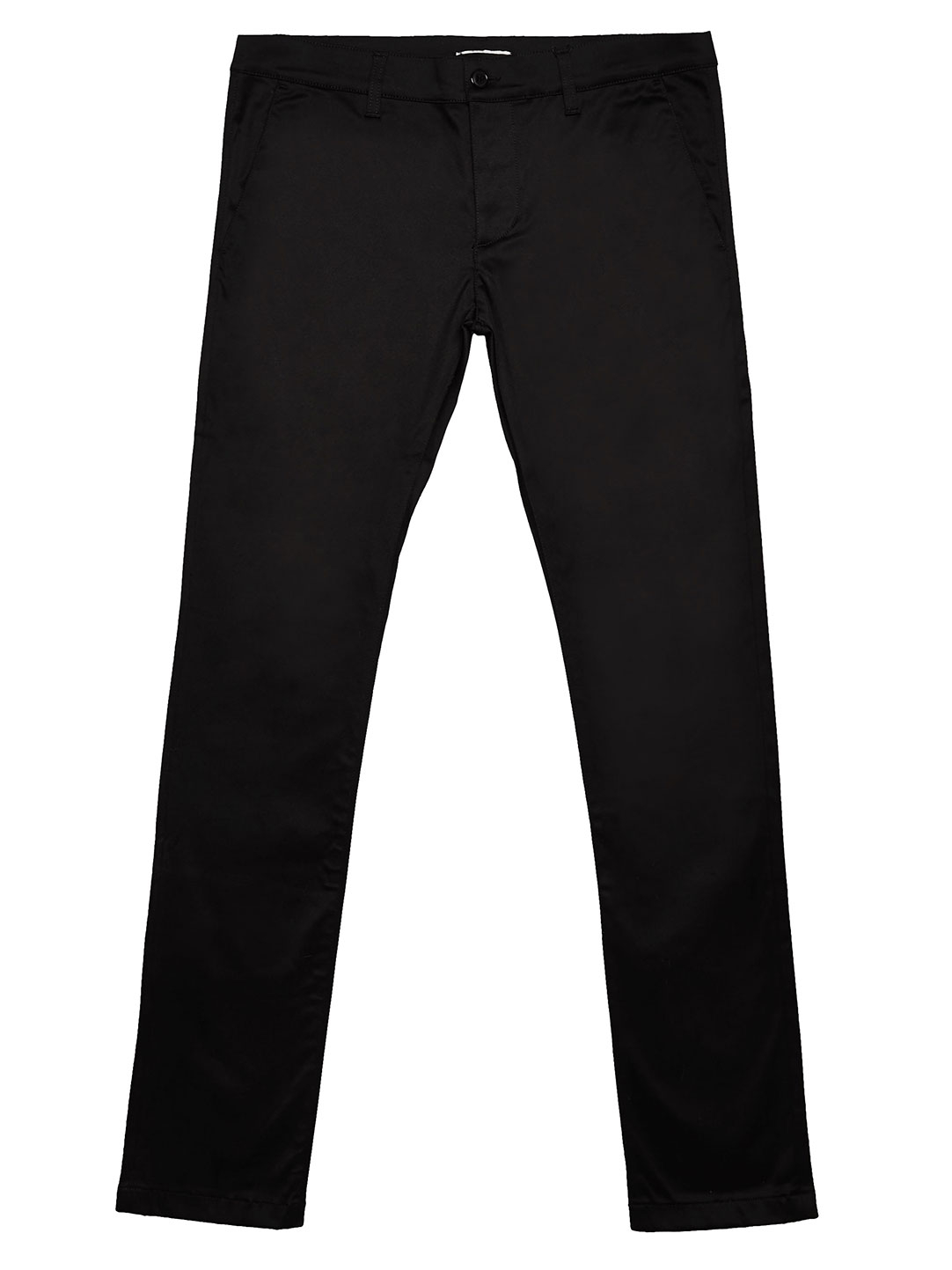 Saint laurent Mens Slim Fit Chino Pants in Black for Men | Lyst