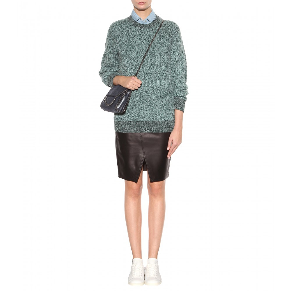 rag bone ta leather skirt in black lyst