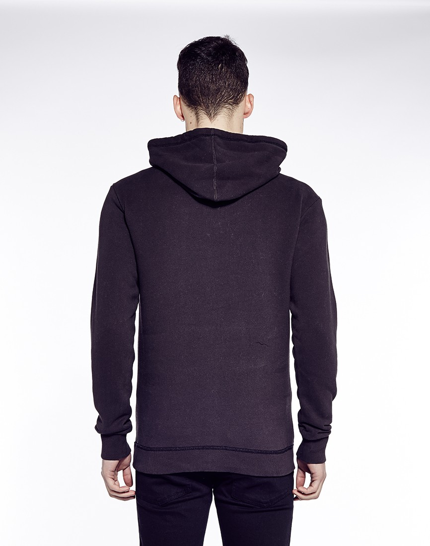 star raw g star rickner hoodie in black for men lyst. Black Bedroom Furniture Sets. Home Design Ideas