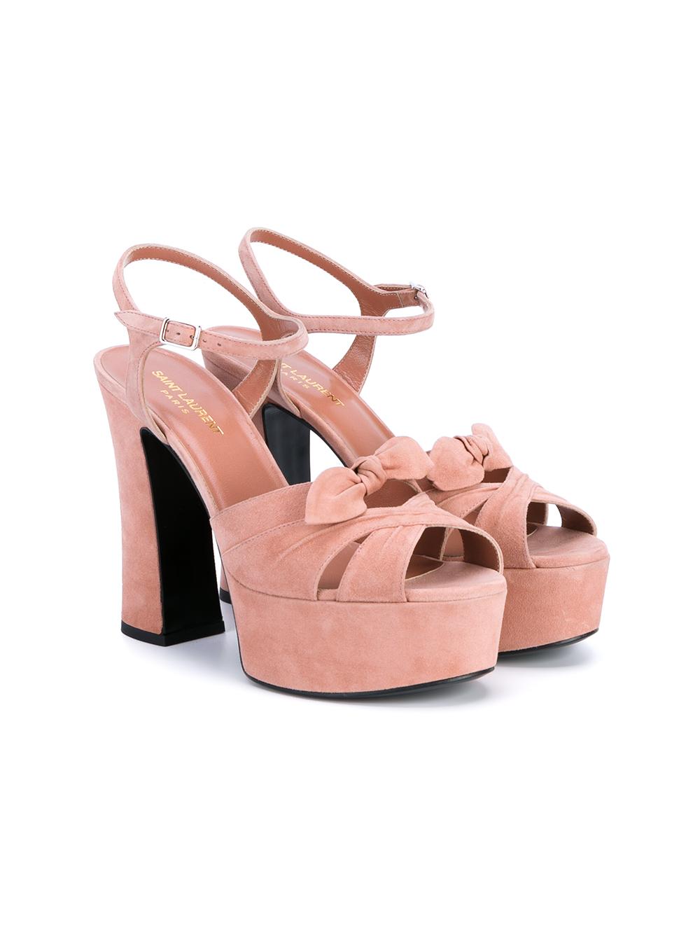 buy cheap low cost Saint Laurent Candy Bow Platform Sandals discount footaction outlet best place X9kKhkrqk