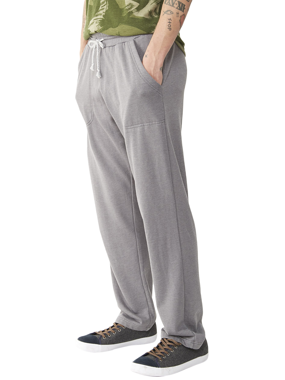 Alternative Apparel Lightweight French Terry Relaxed Pants