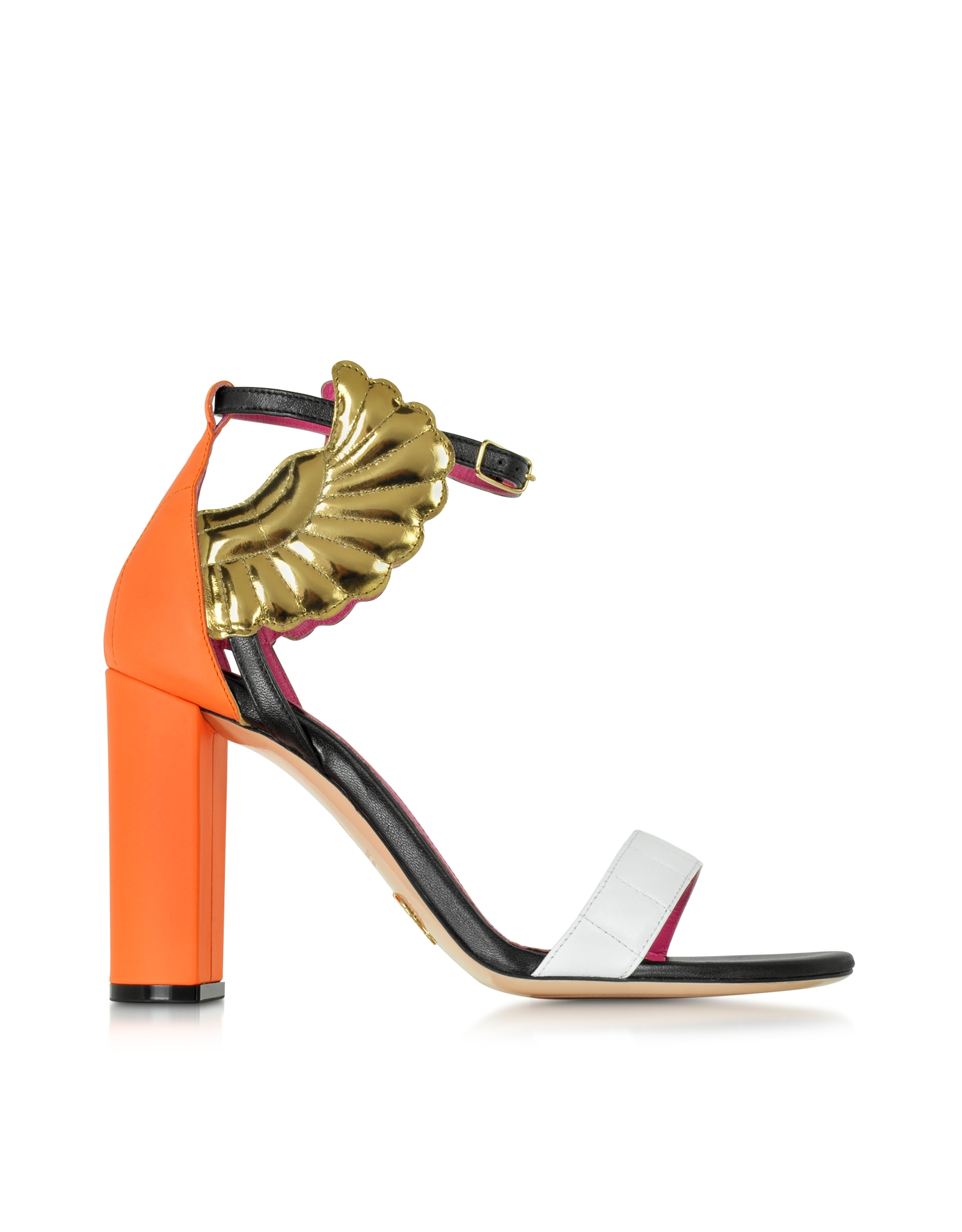 colour-block sandals - Multicolour Oscar Tiye 9C2YBHVdq