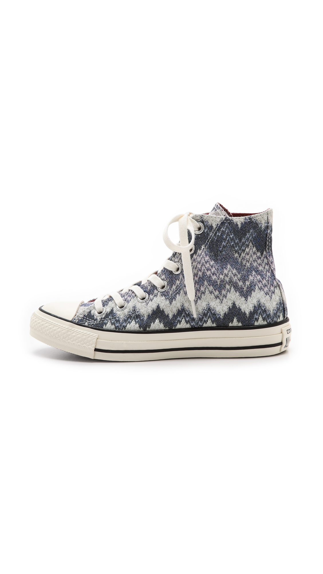 96162579049b Converse Chuck Taylor All Star Missoni High Top Sneakers - Egret ...