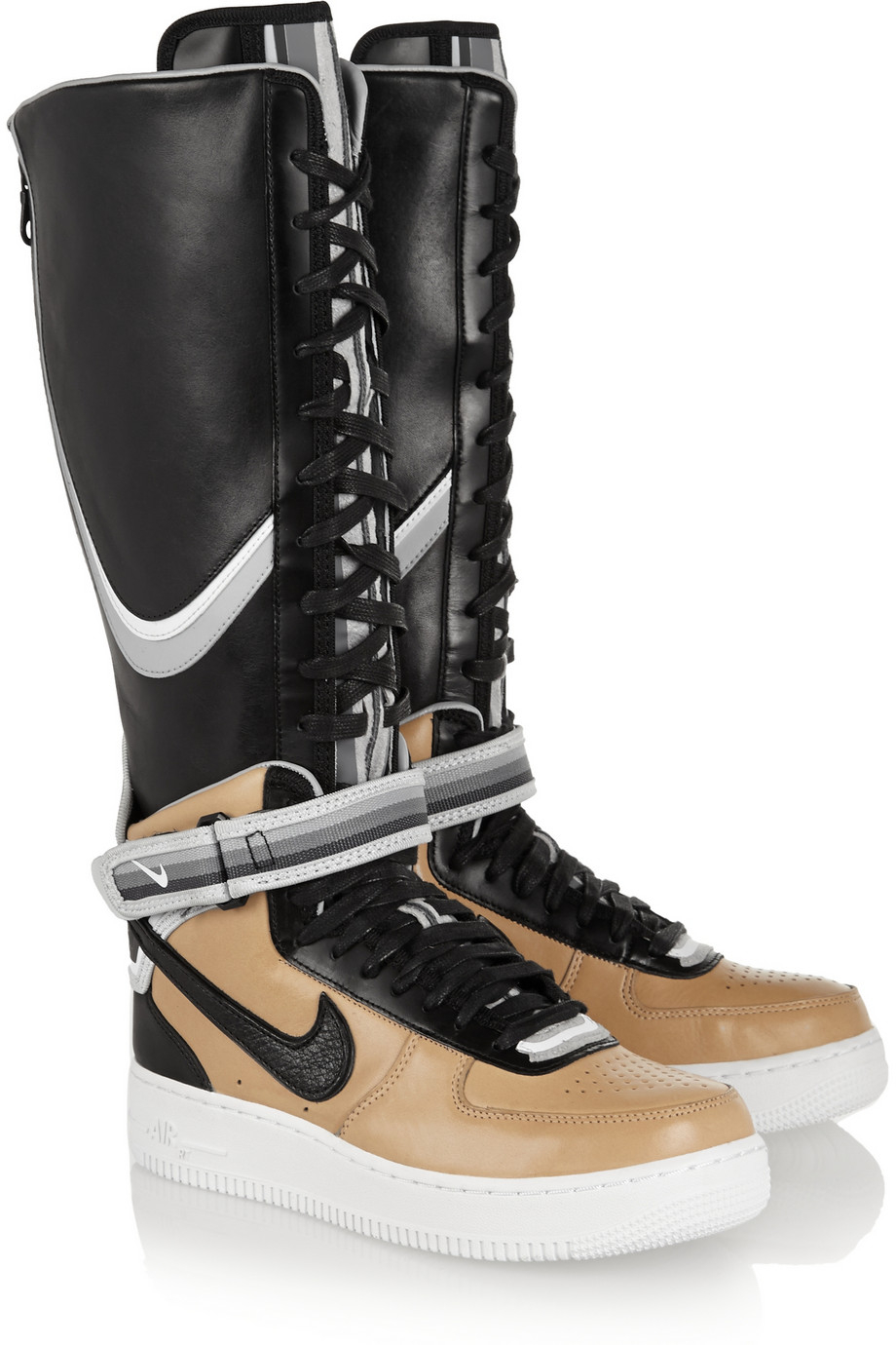 Lyst Nike Riccardo Tisci Air Force 1 Leather High Top
