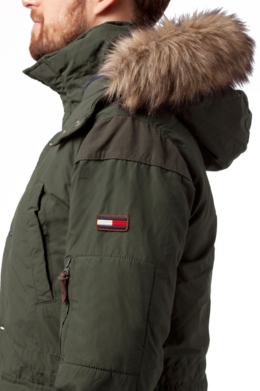 Tommy Hilfiger Dixon Hood Jacket In Green For Men Lyst