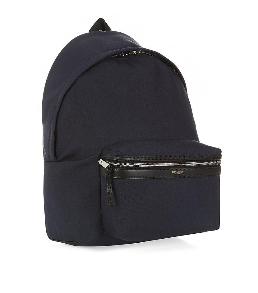 fefe760422 Saint laurent Classic Hunter Backpack in Blue for Men