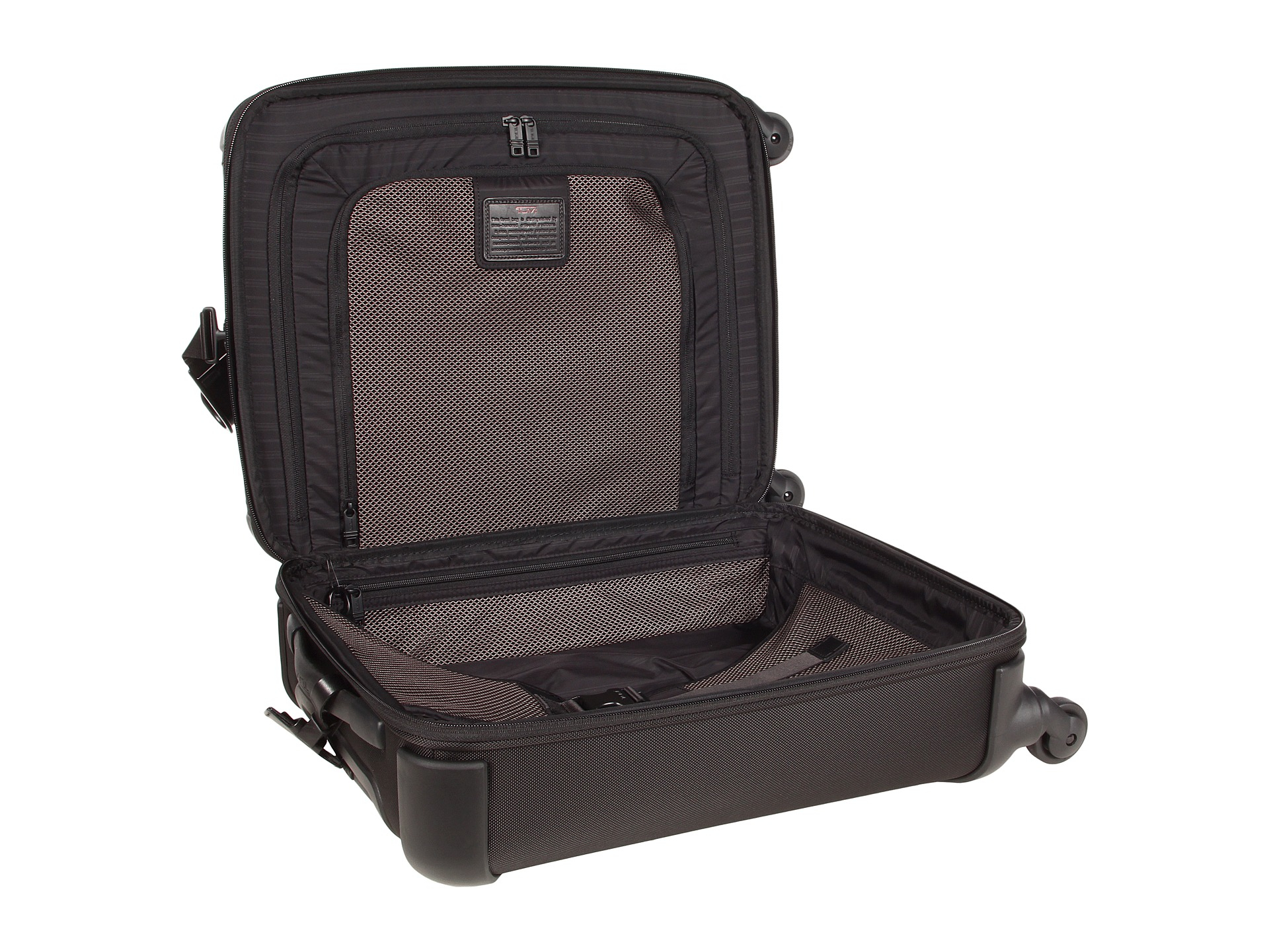 5fe508fba Tumi Alpha - Lightweight Continental Carry-On in Black - Lyst