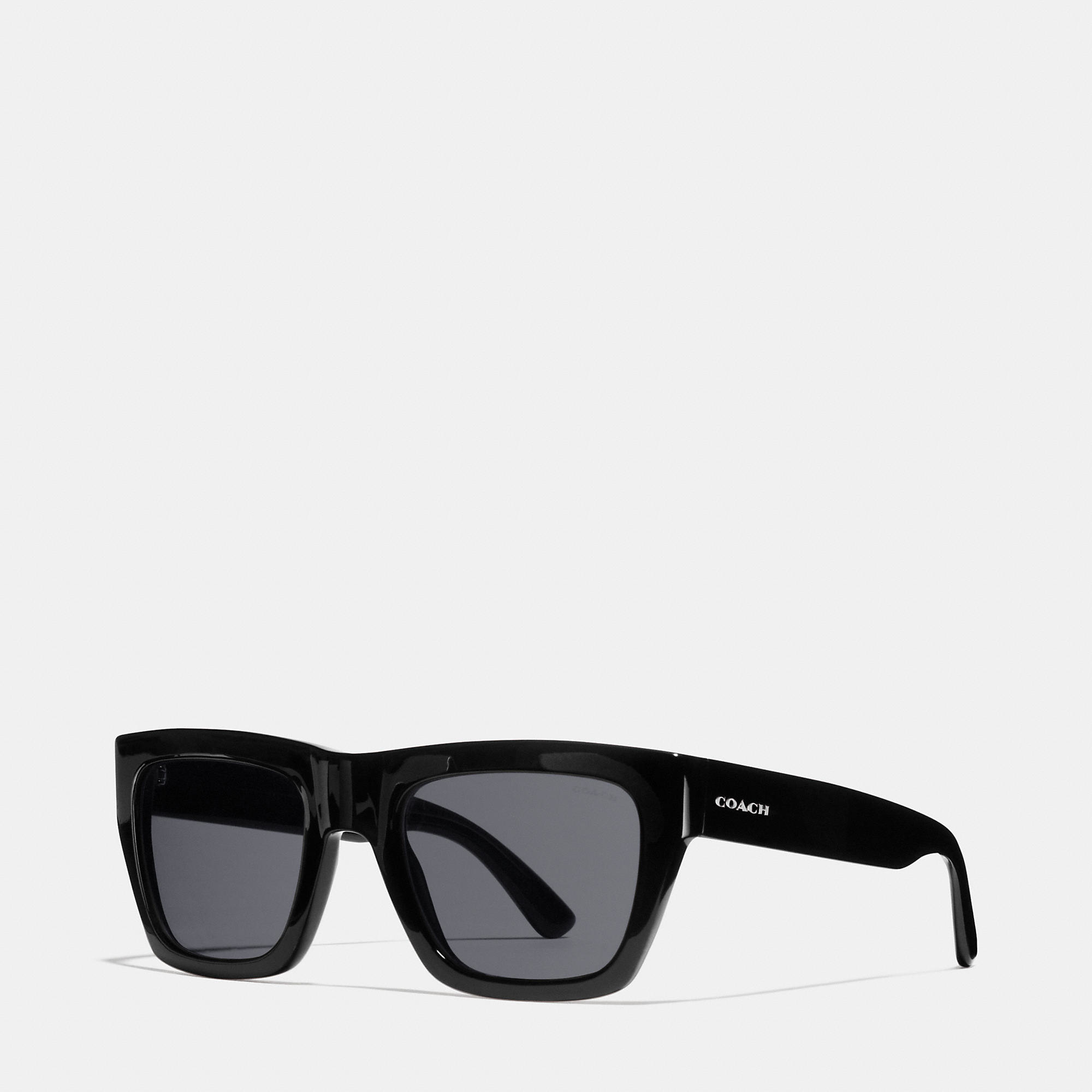 682f3206b971f ... coupon for lyst coach commander sunglasses in black for men 7147c 709a1