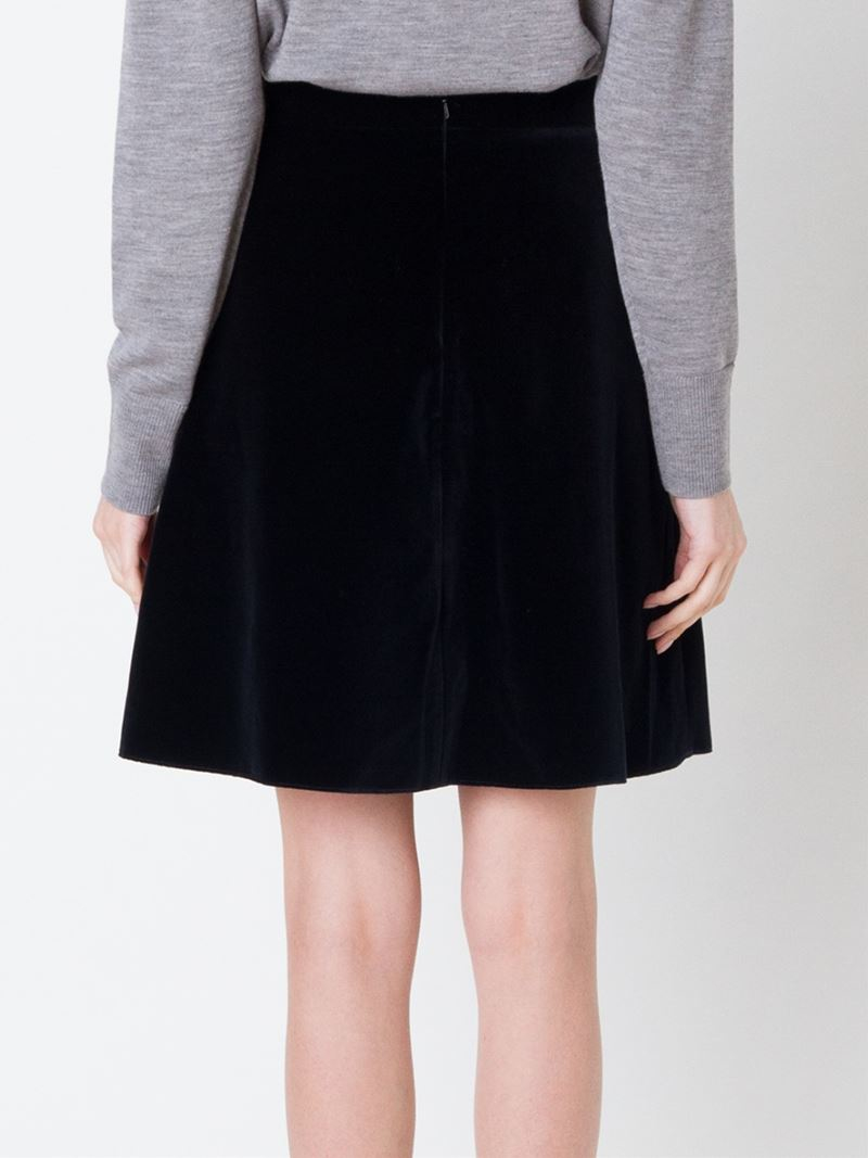 j w high waist a line skirt in black lyst