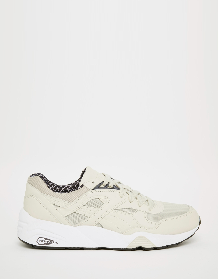 puma white beige