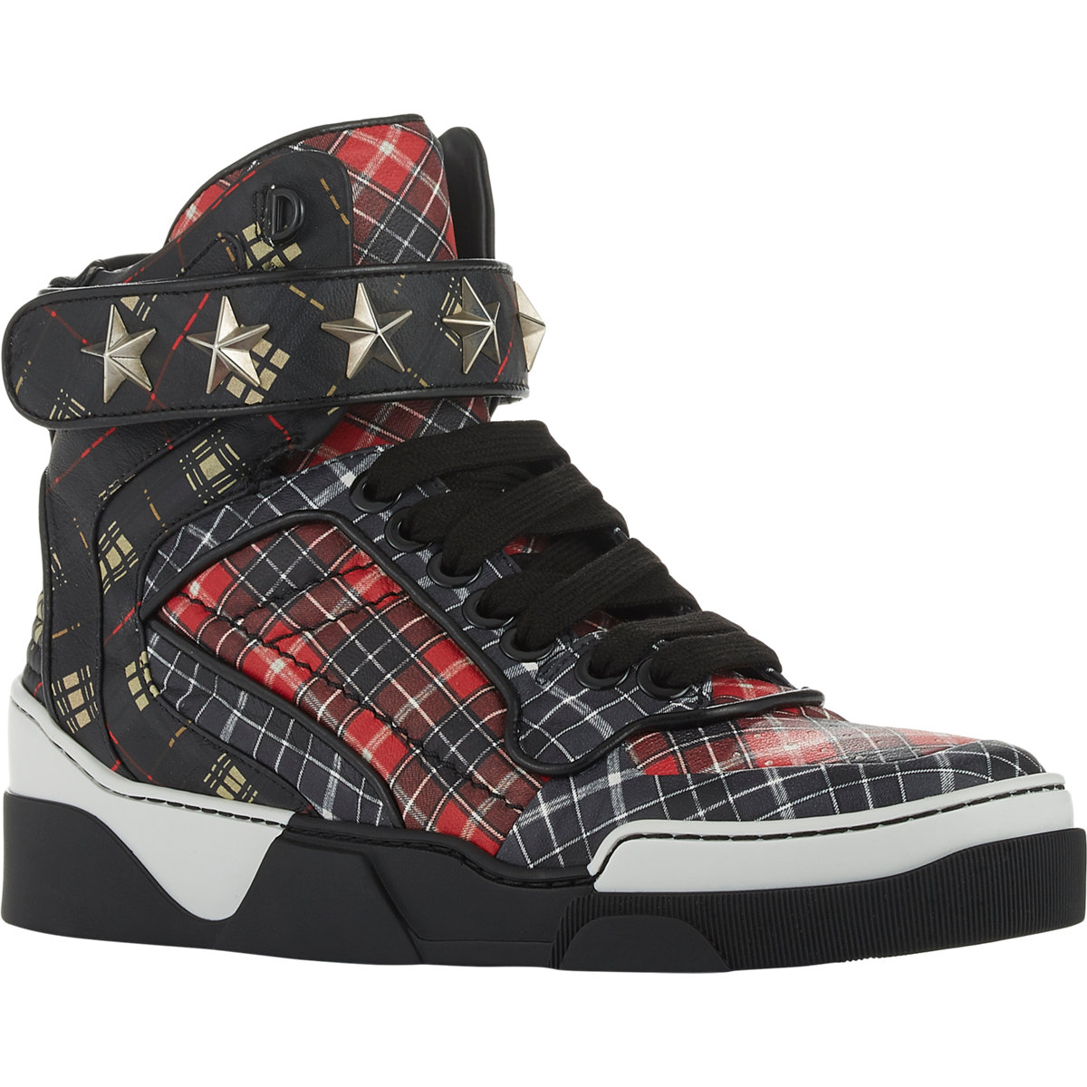 Givenchy Tyson Hi Top Sneakers In Red For Men Lyst