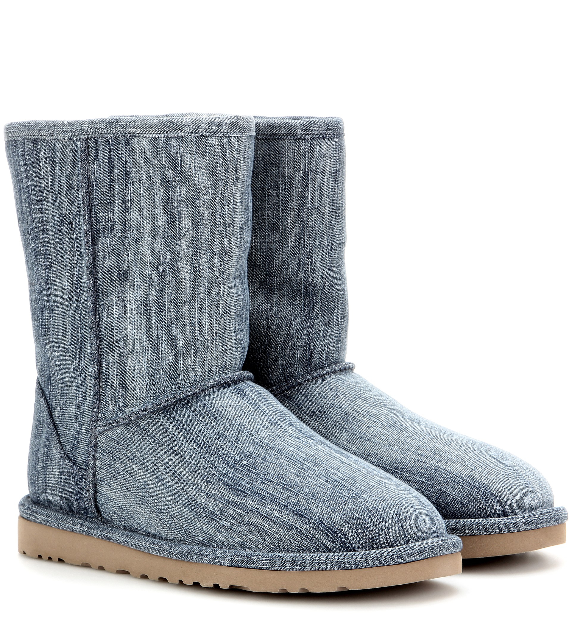 blue denim uggs