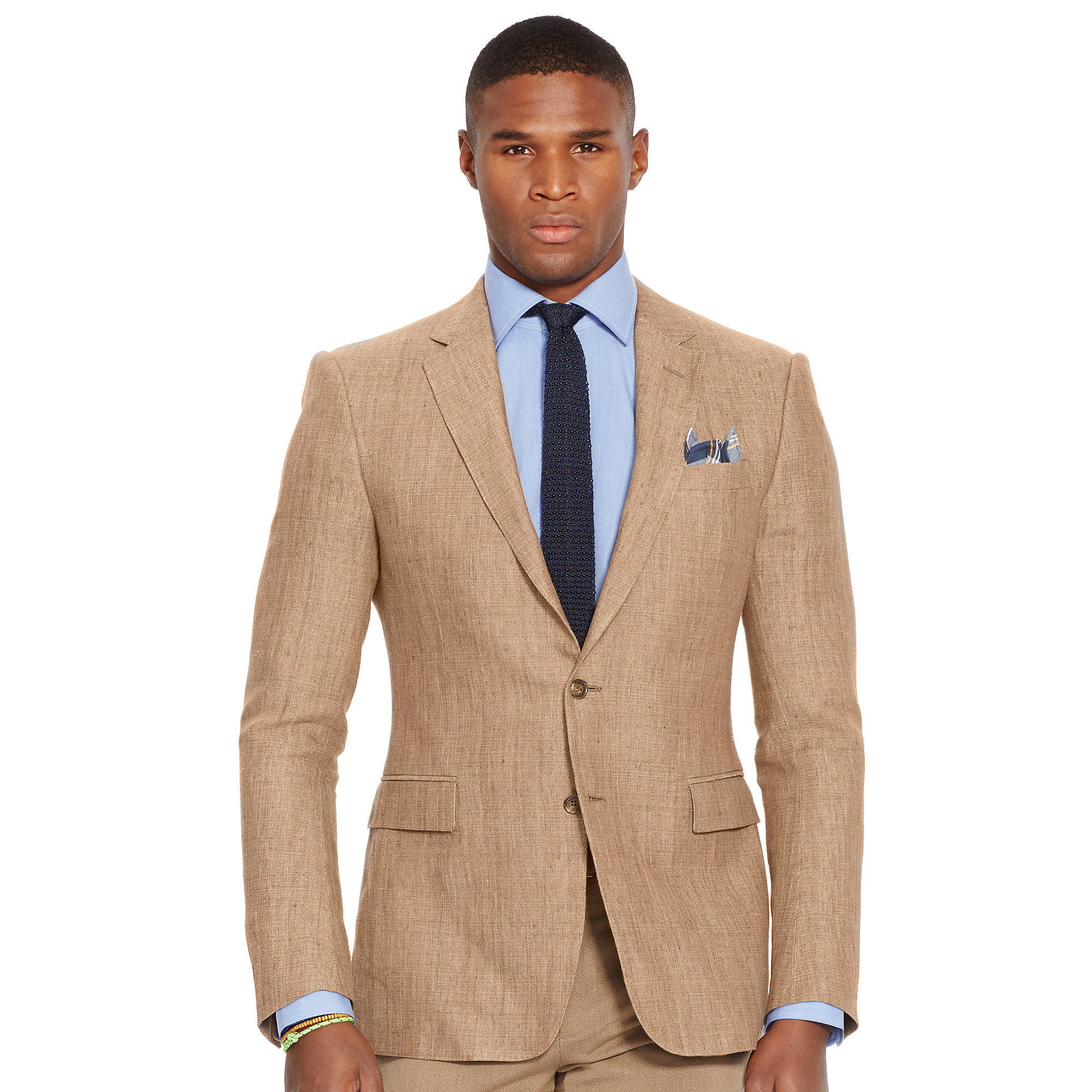 Polo ralph lauren Connery Linen Sport Coat in Natural for Men | Lyst