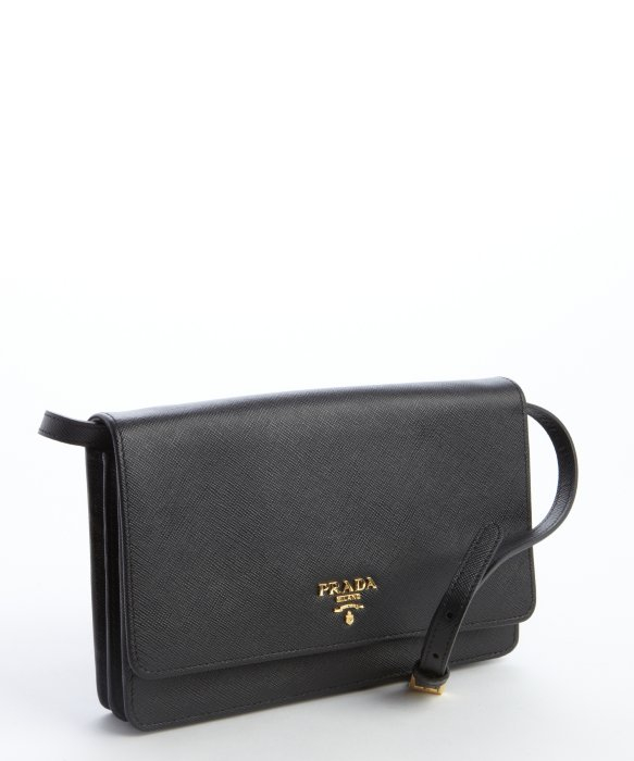 prada convertible saffiano wallet crossbody bag