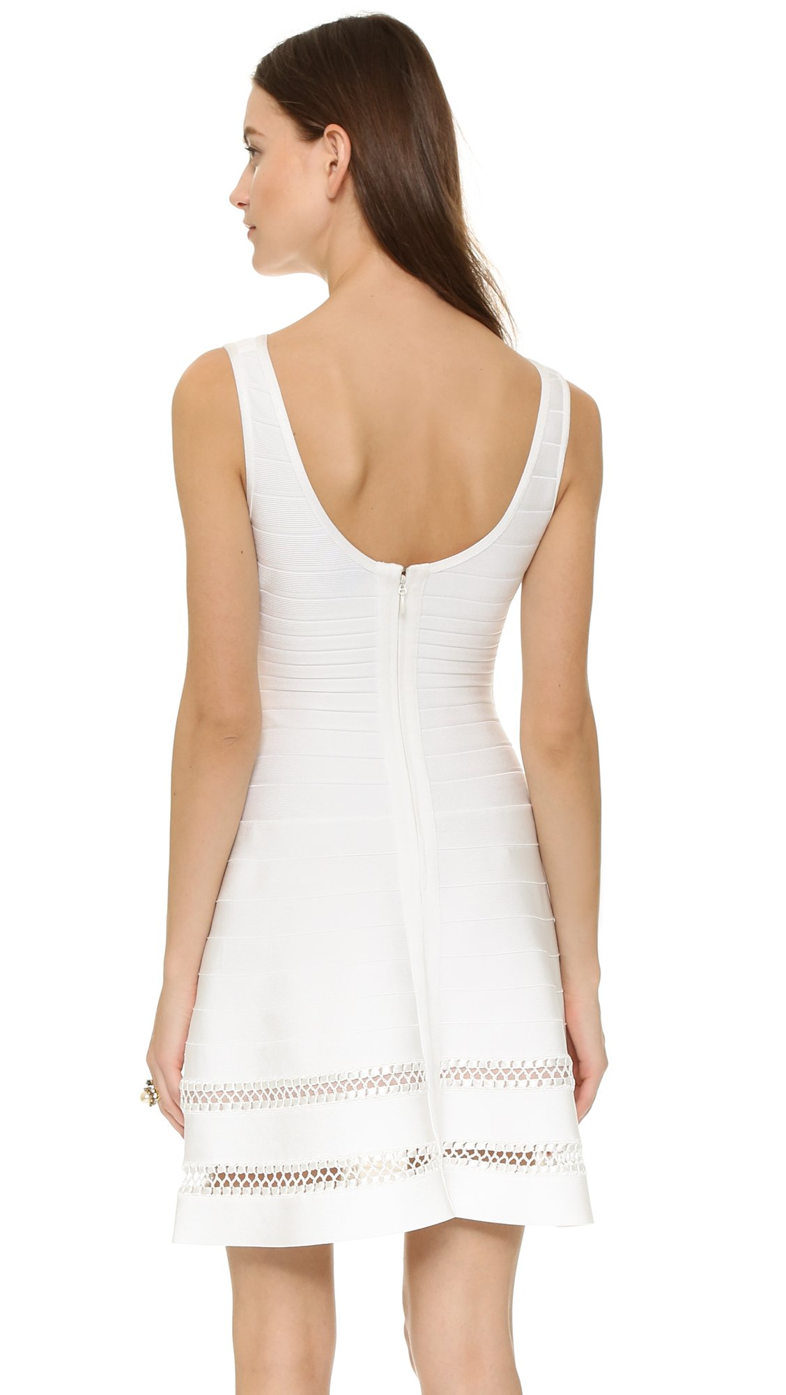 how to clean a herve leger dress