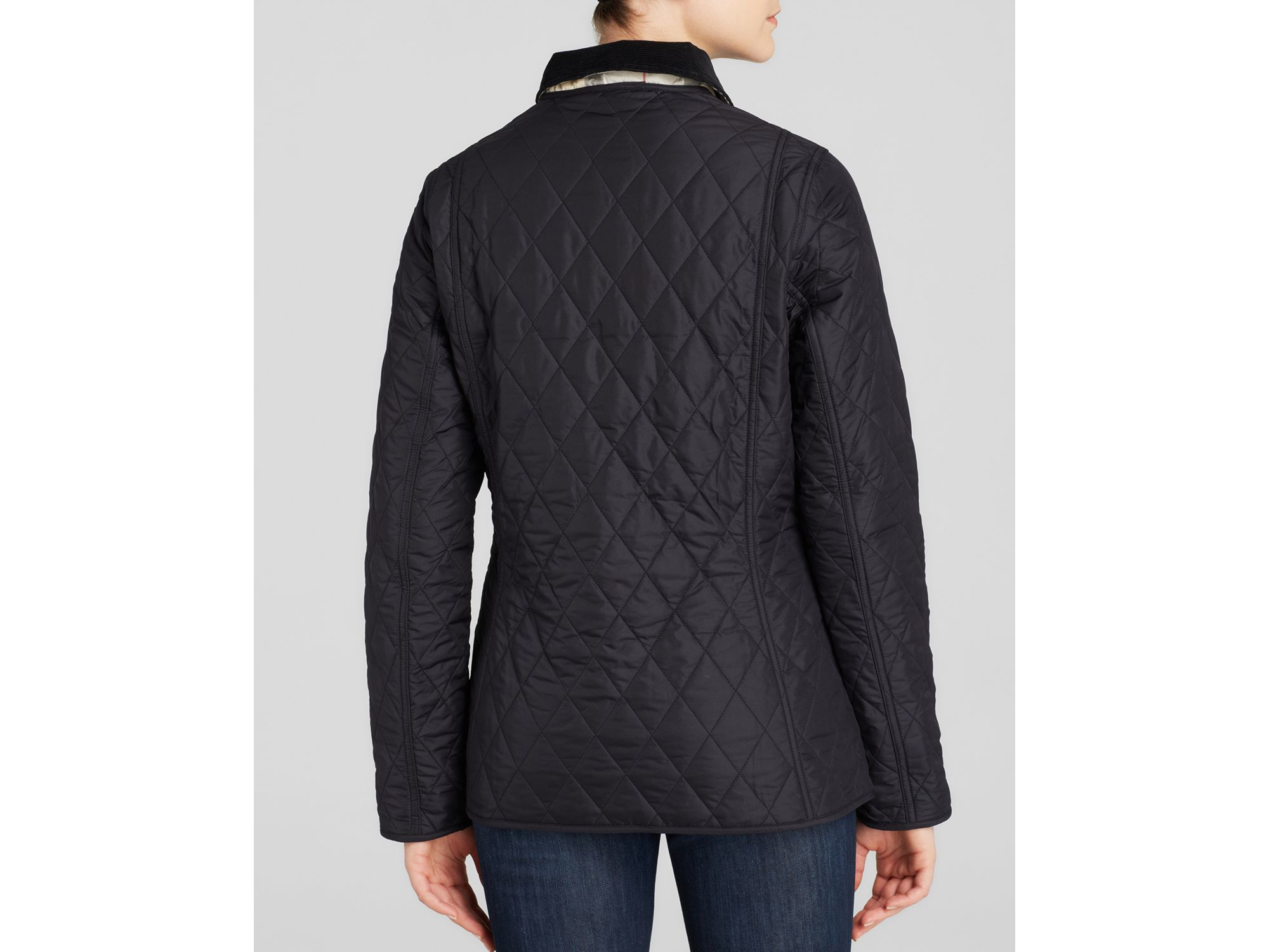Barbour Spring Annandale Quilted Jacket in Blue