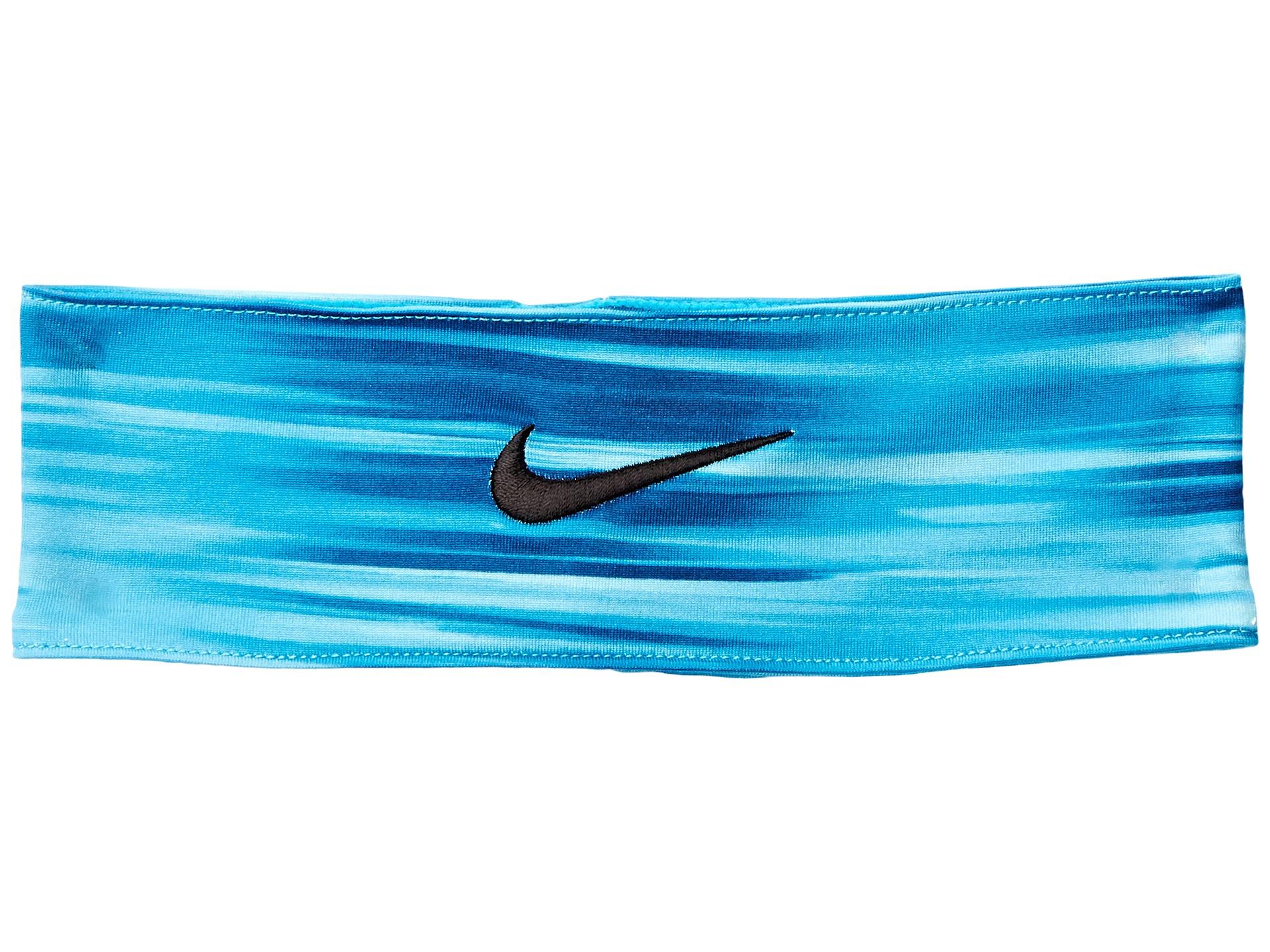 Lyst - Nike Fury Headband in Blue d61fc1c1db6