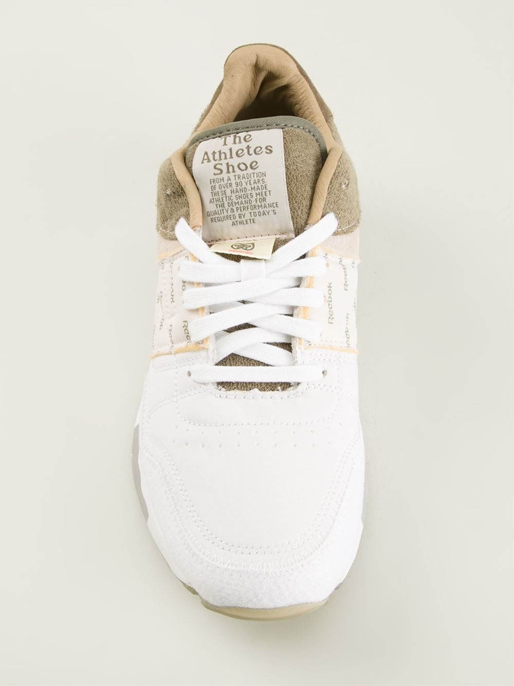 reebok classic leather white trainers shoes