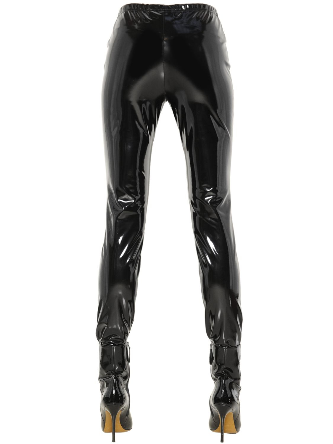 Louis Vuitton Made In France >> Lyst - Wanda Nylon Stretch Vinyl Leggings in Black