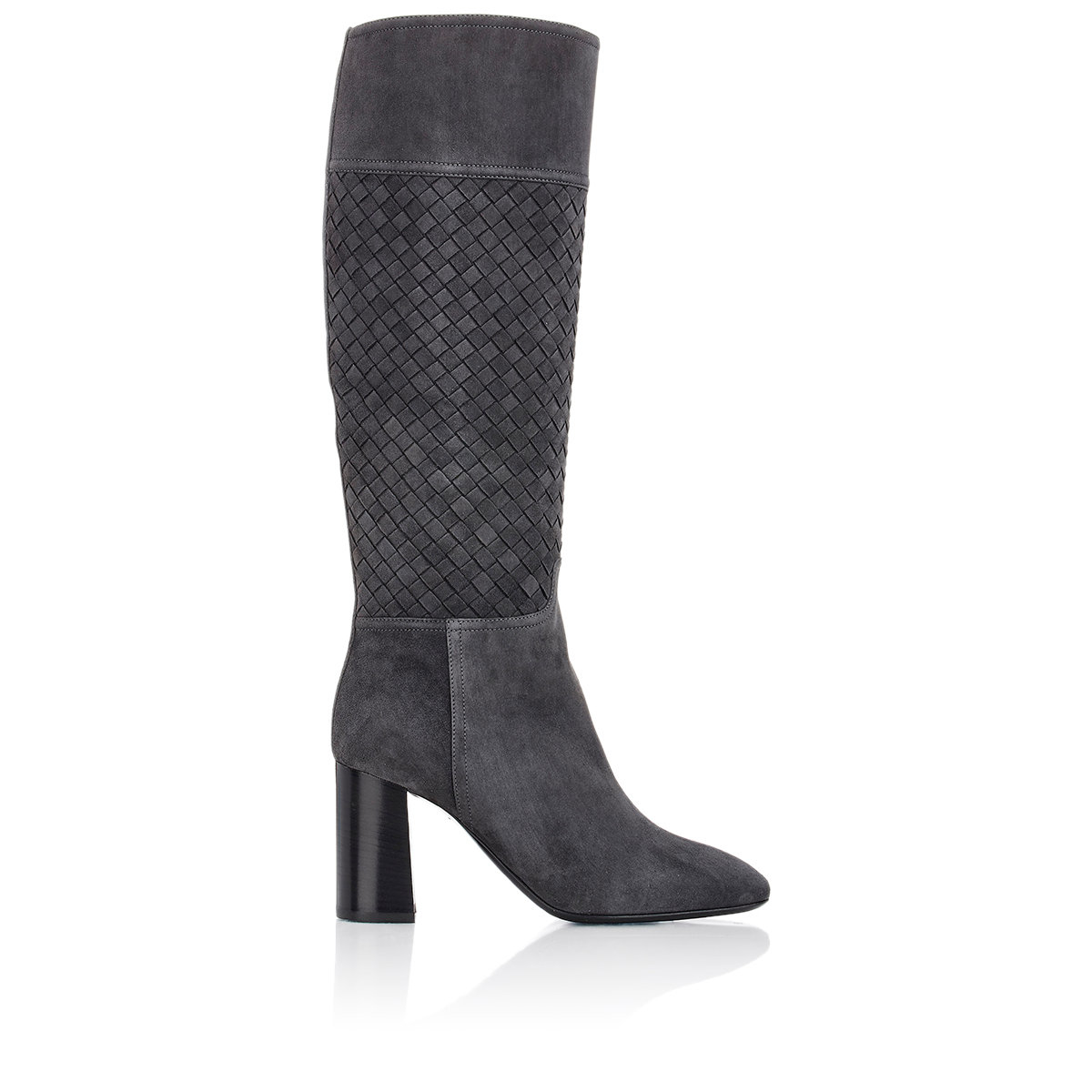 Bottega Veneta Crocodile Knee-High Boots geniue stockist cheap price outlet pre order outlet good selling Xk744UesM