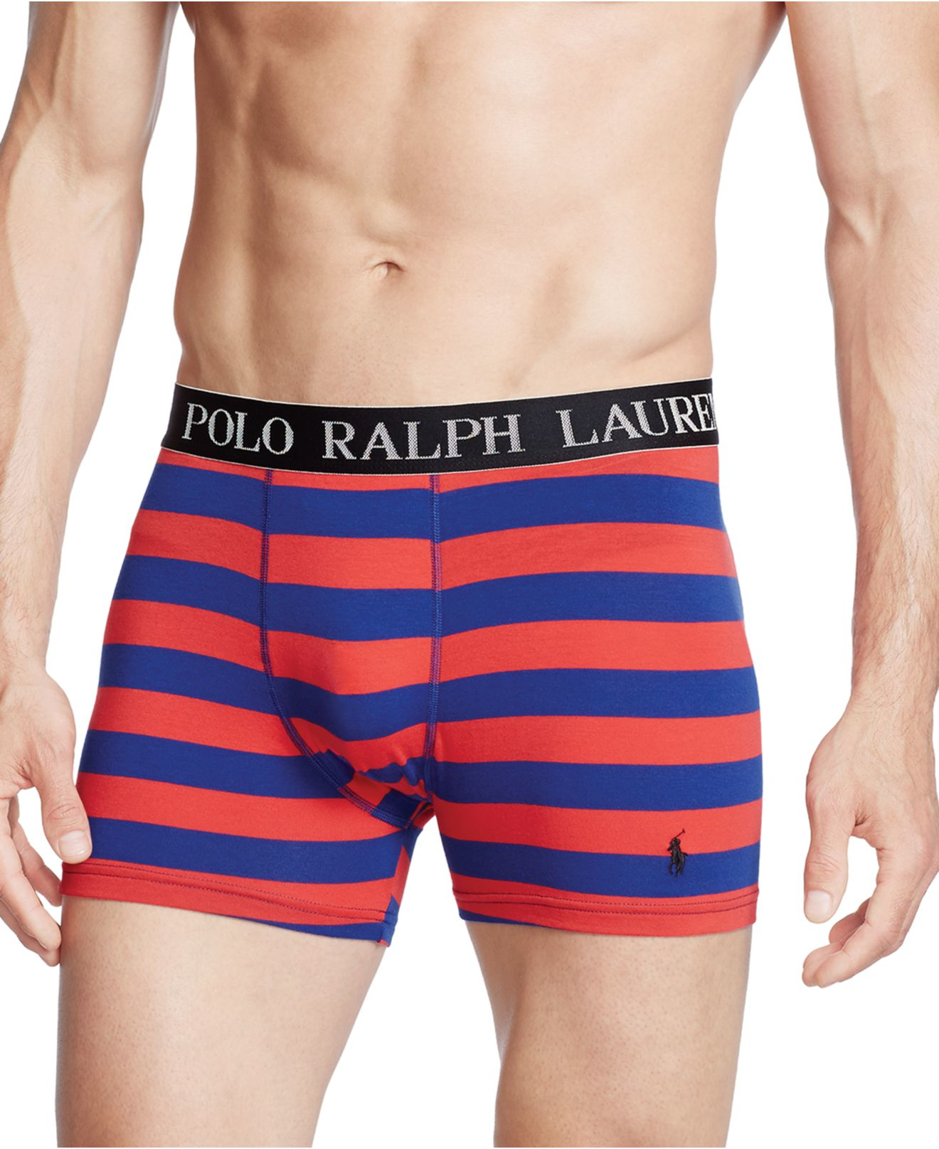 lyst polo ralph lauren stretch jersey boxer briefs in. Black Bedroom Furniture Sets. Home Design Ideas
