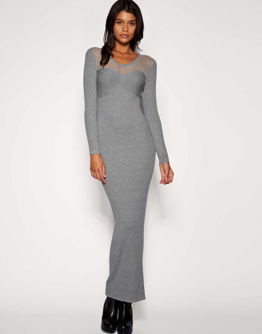 Ribbed Maxi Dresses