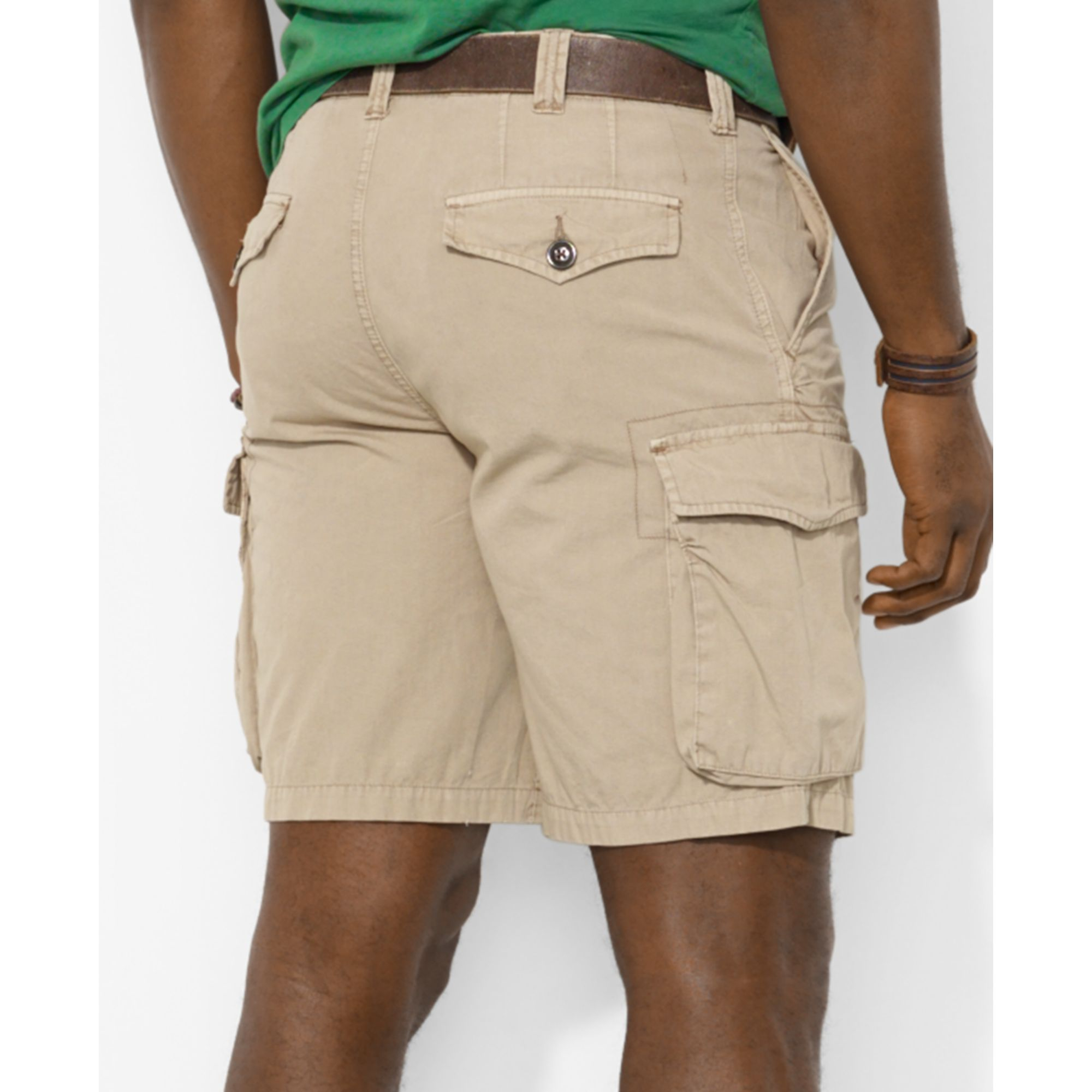 575e16a8c3 ... cheapest lyst polo ralph lauren polo big and tall corporal cargo shorts  in 74738 fce07