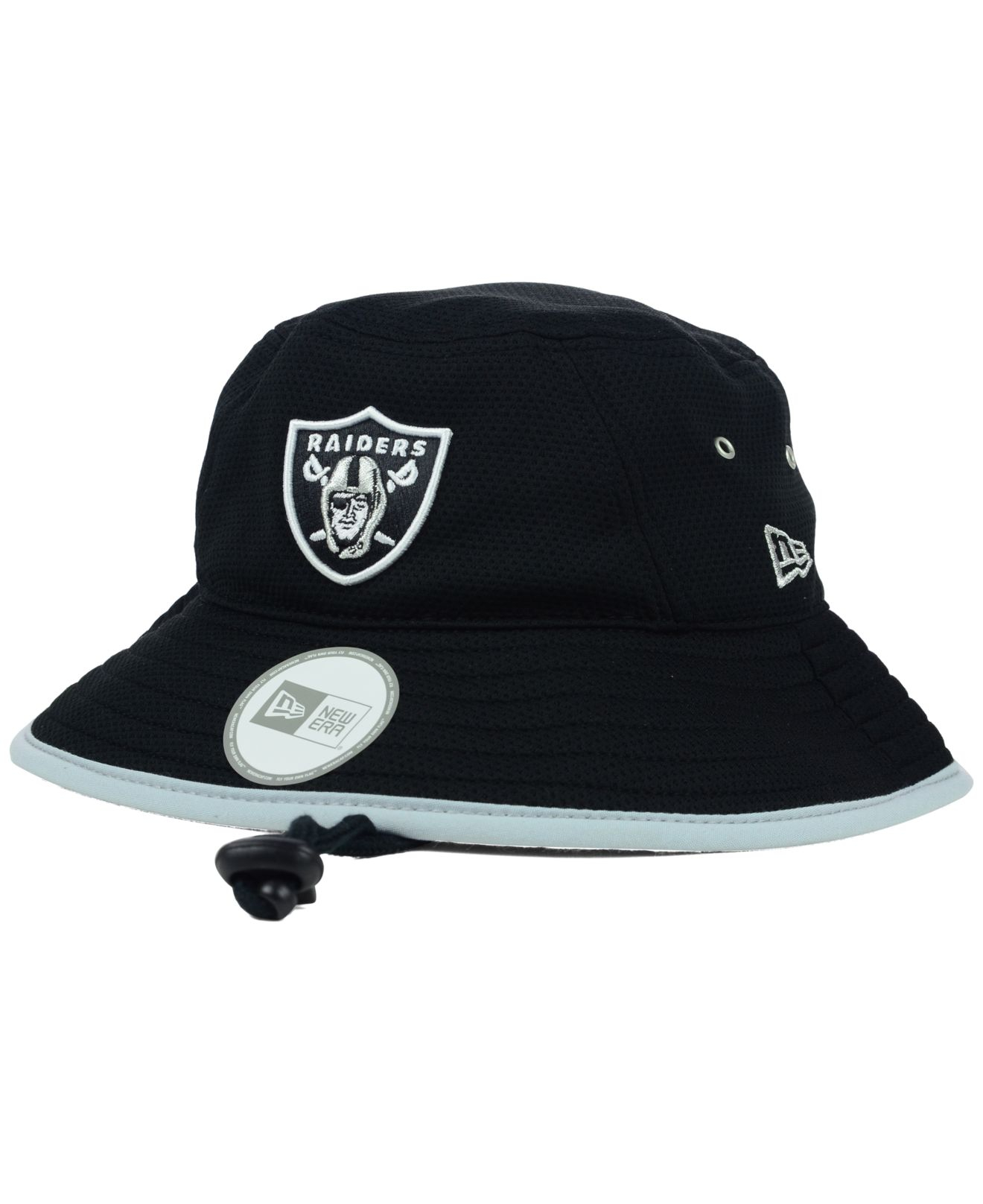 876fe66ce1cbe KTZ Oakland Raiders Tc Training Bucket Hat in Black for Men - Lyst
