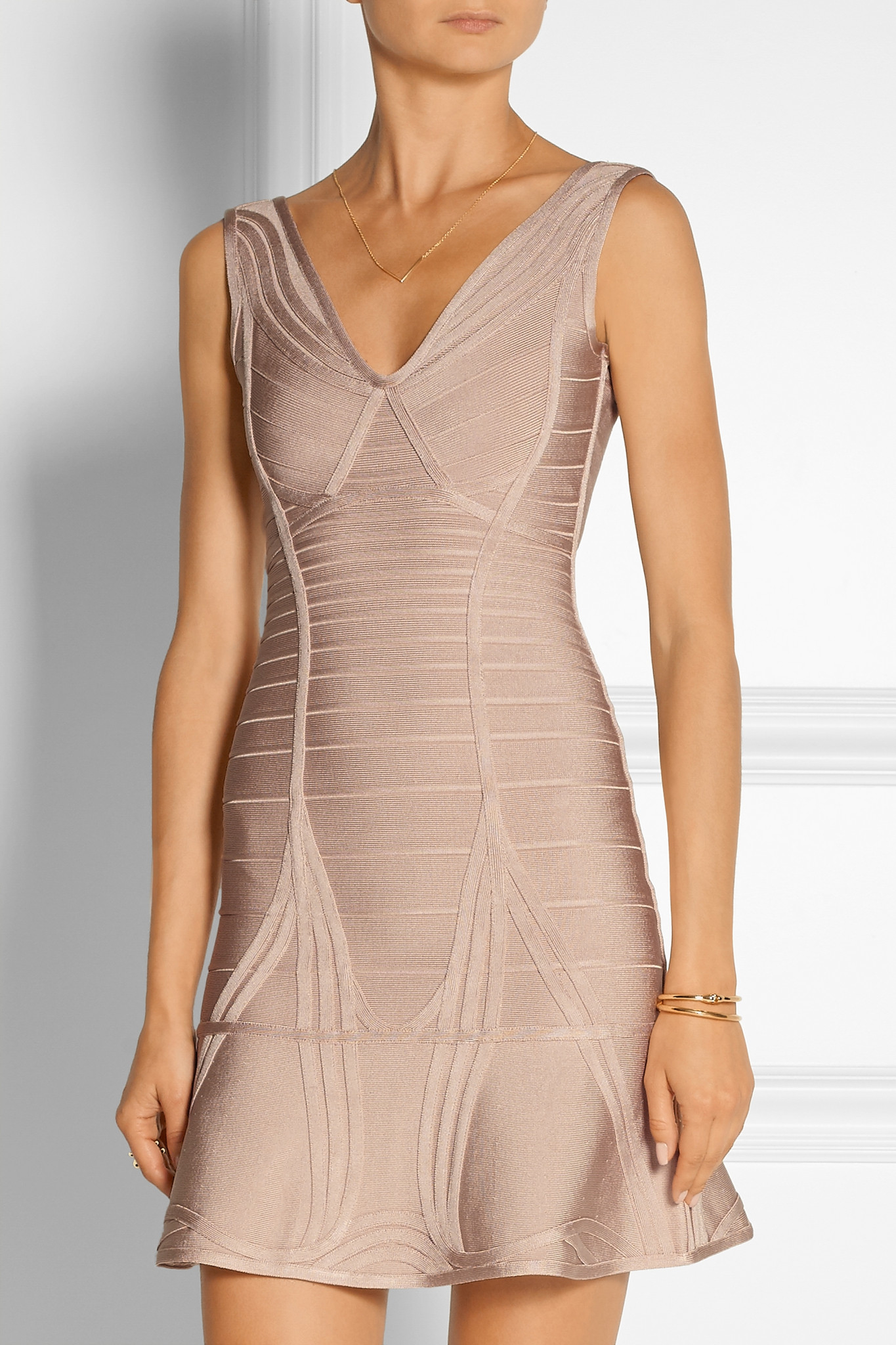 04fc094159b0 Gallery. Previously sold at  NET-A-PORTER · Women s Herve Leger Bandage  Women s Satin Mini Dresses ...