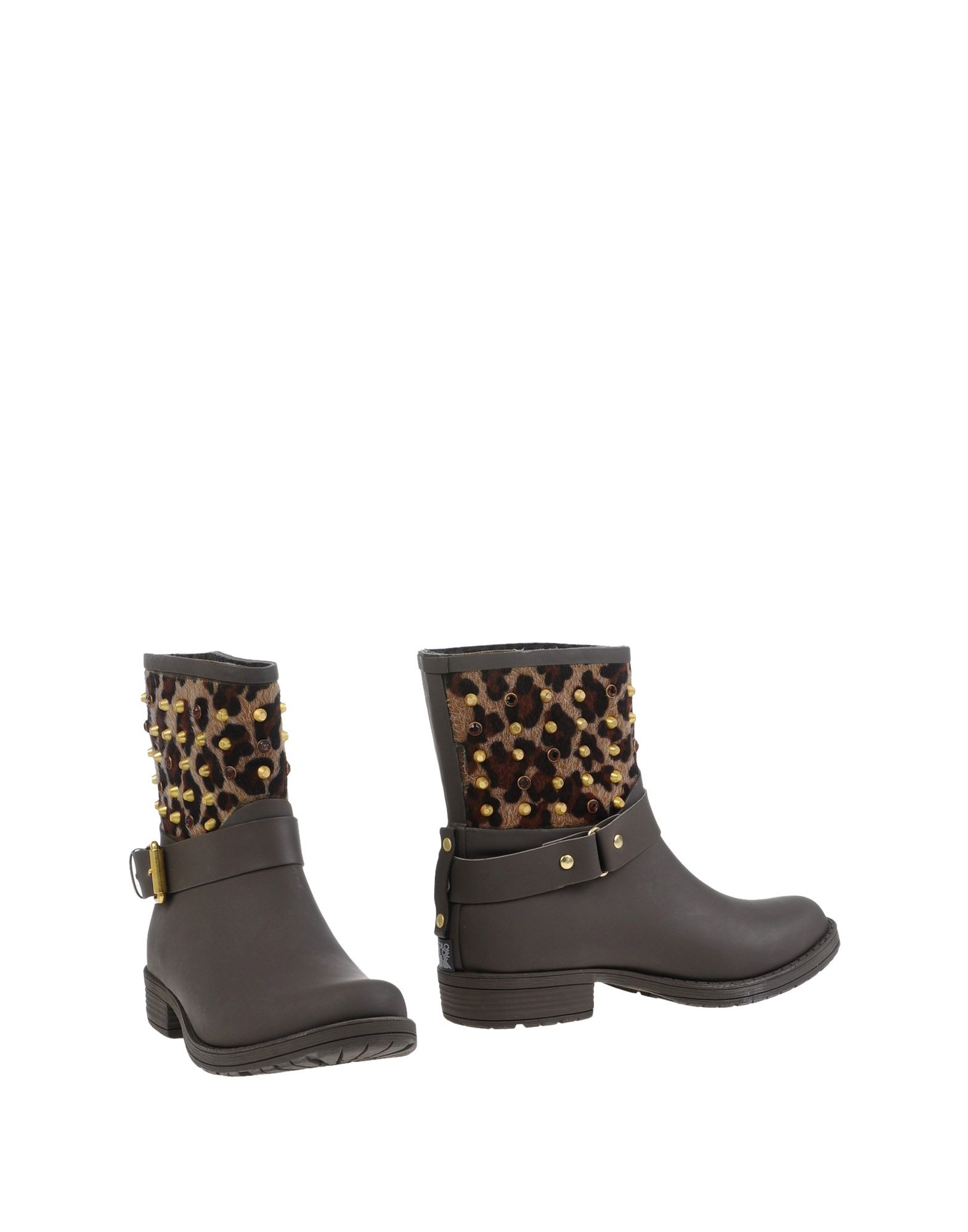 colors of california ankle boots in brown lyst