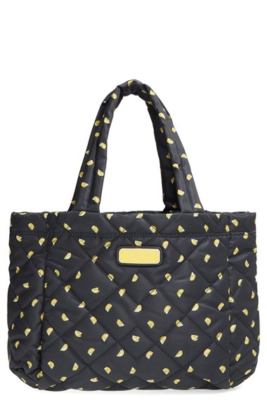 ea82d2a39e54 Lyst - Marc By Marc Jacobs  small Crosby  Quilted Nylon Tote in Yellow