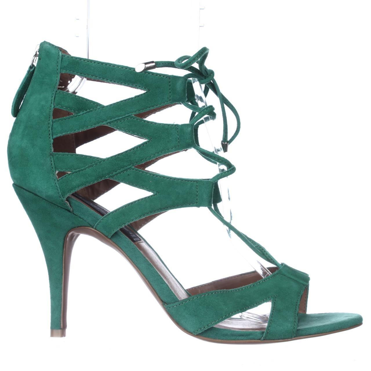 66e23f808b1 Lyst - Steve Madden Steven Gingir Lace-up Dress Sandals in Green