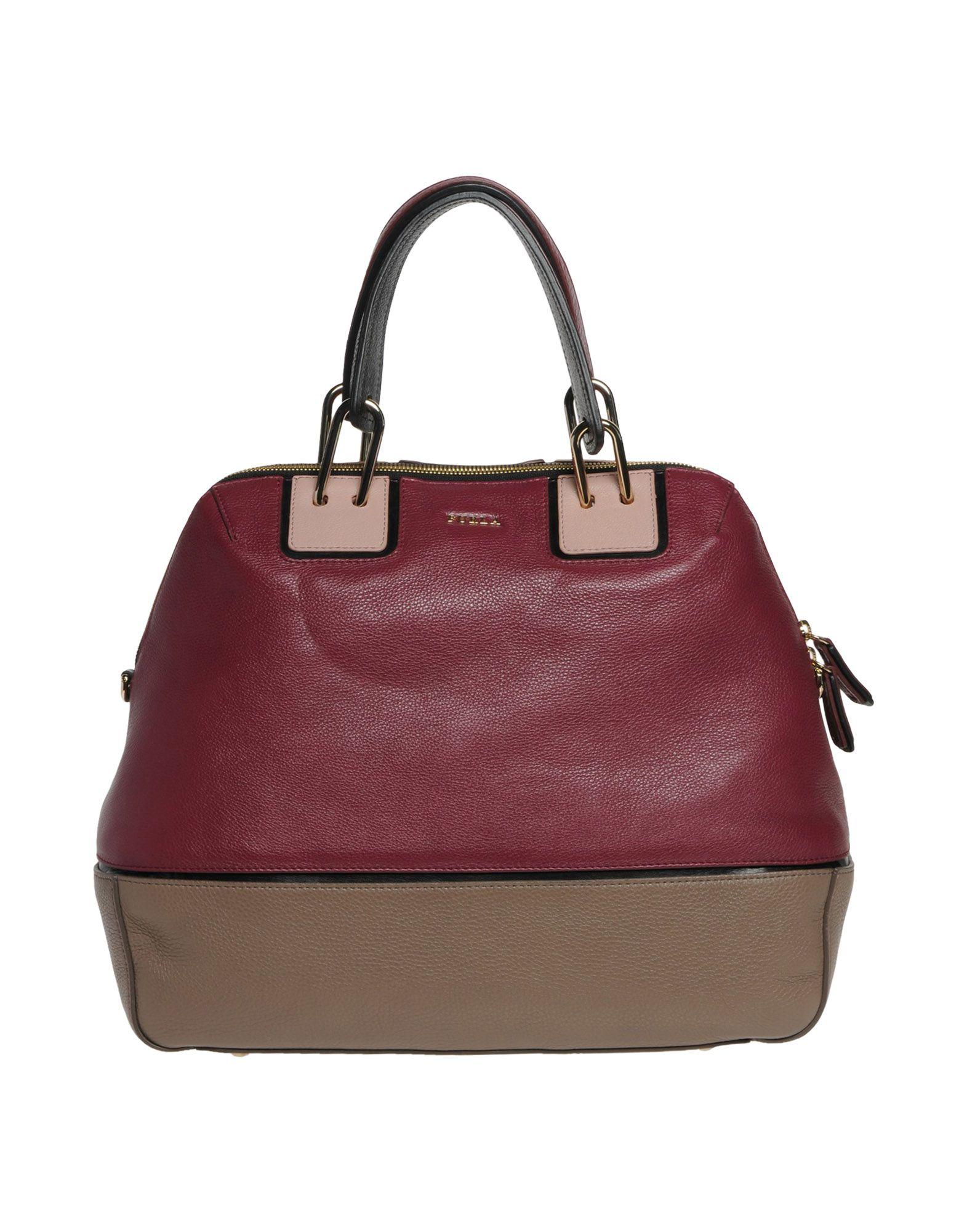Furla Handbag in Purple (Maroon)